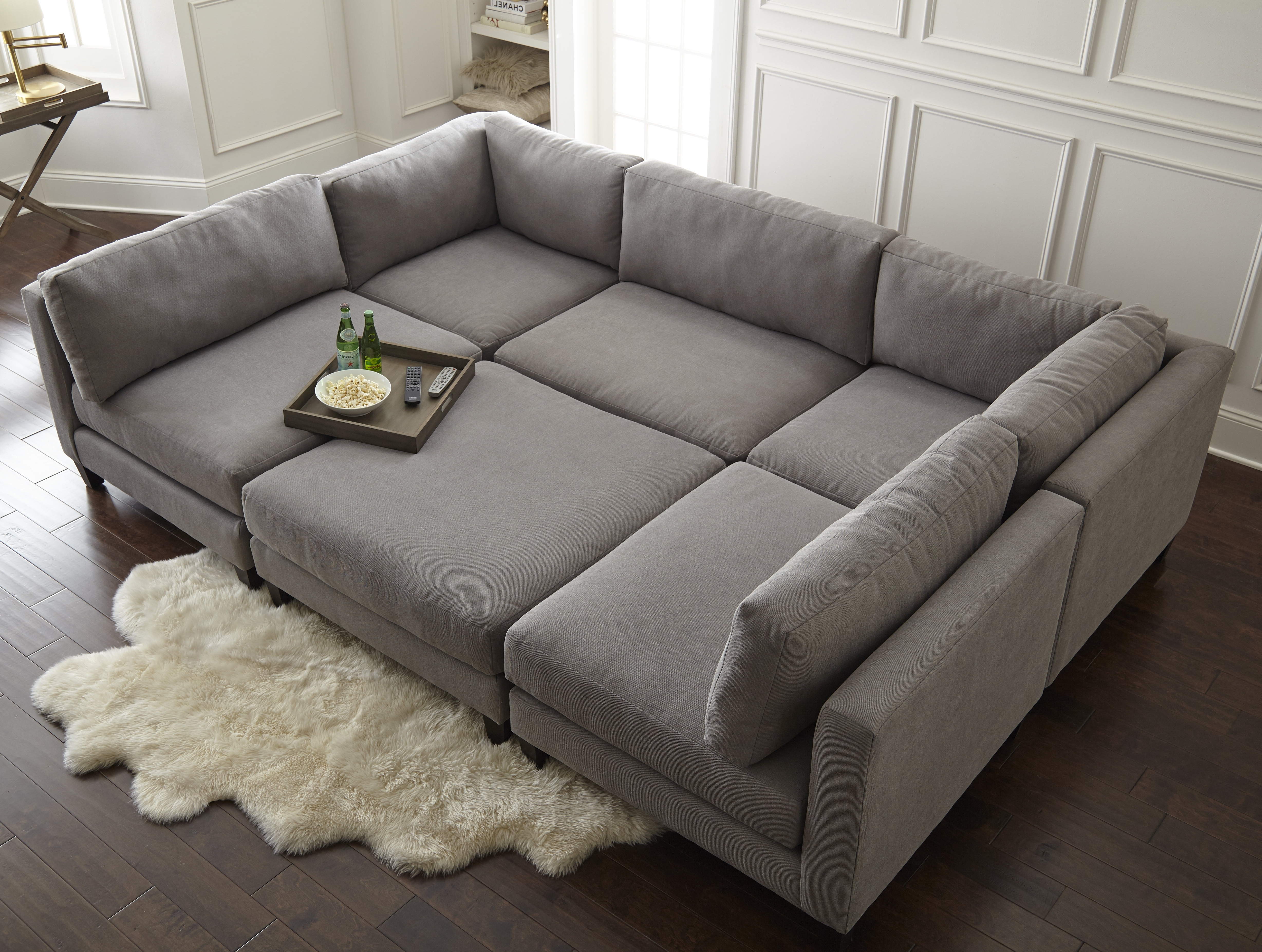 Down Filled Sectional Sofas Intended For 2019 Individual Sectional Pieces (Gallery 20 of 20)