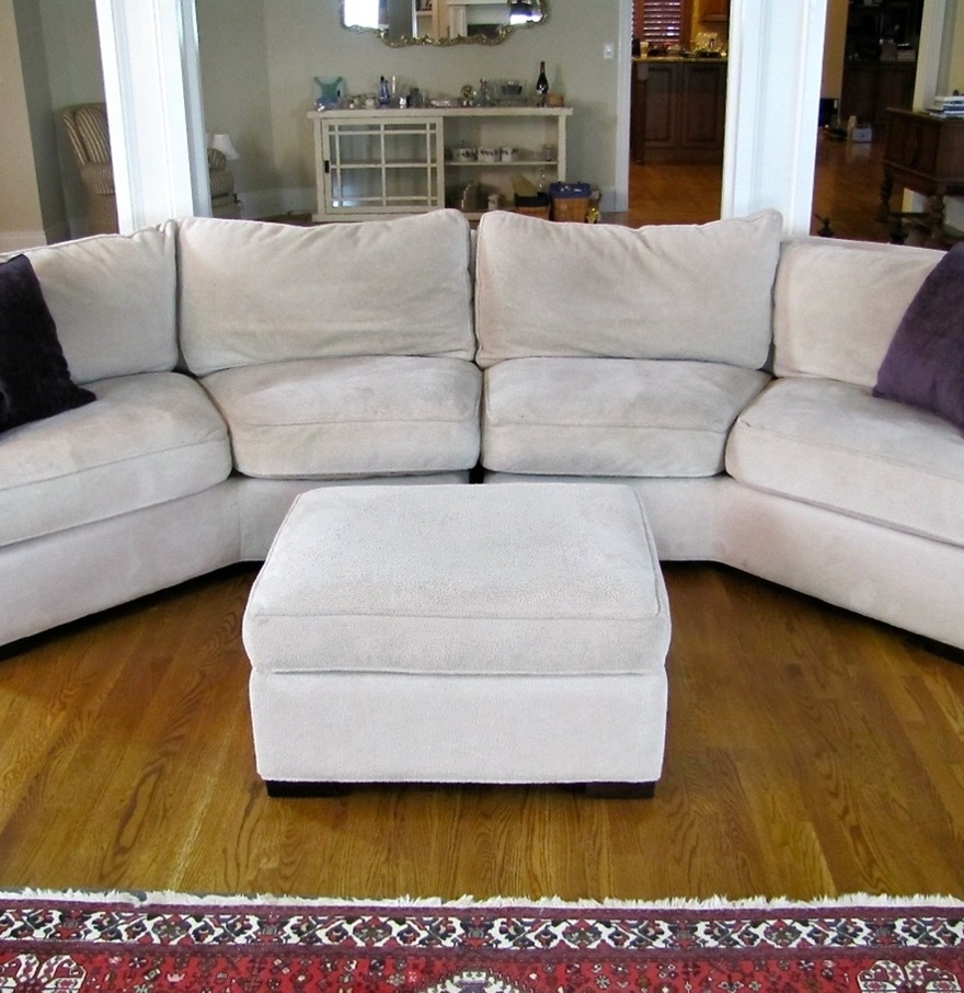 Down Filled Sectional Sofas Pertaining To Popular Sofa : Gray Down Filled Sofa Crate And Barrel Down Filled Sofa (View 15 of 20)