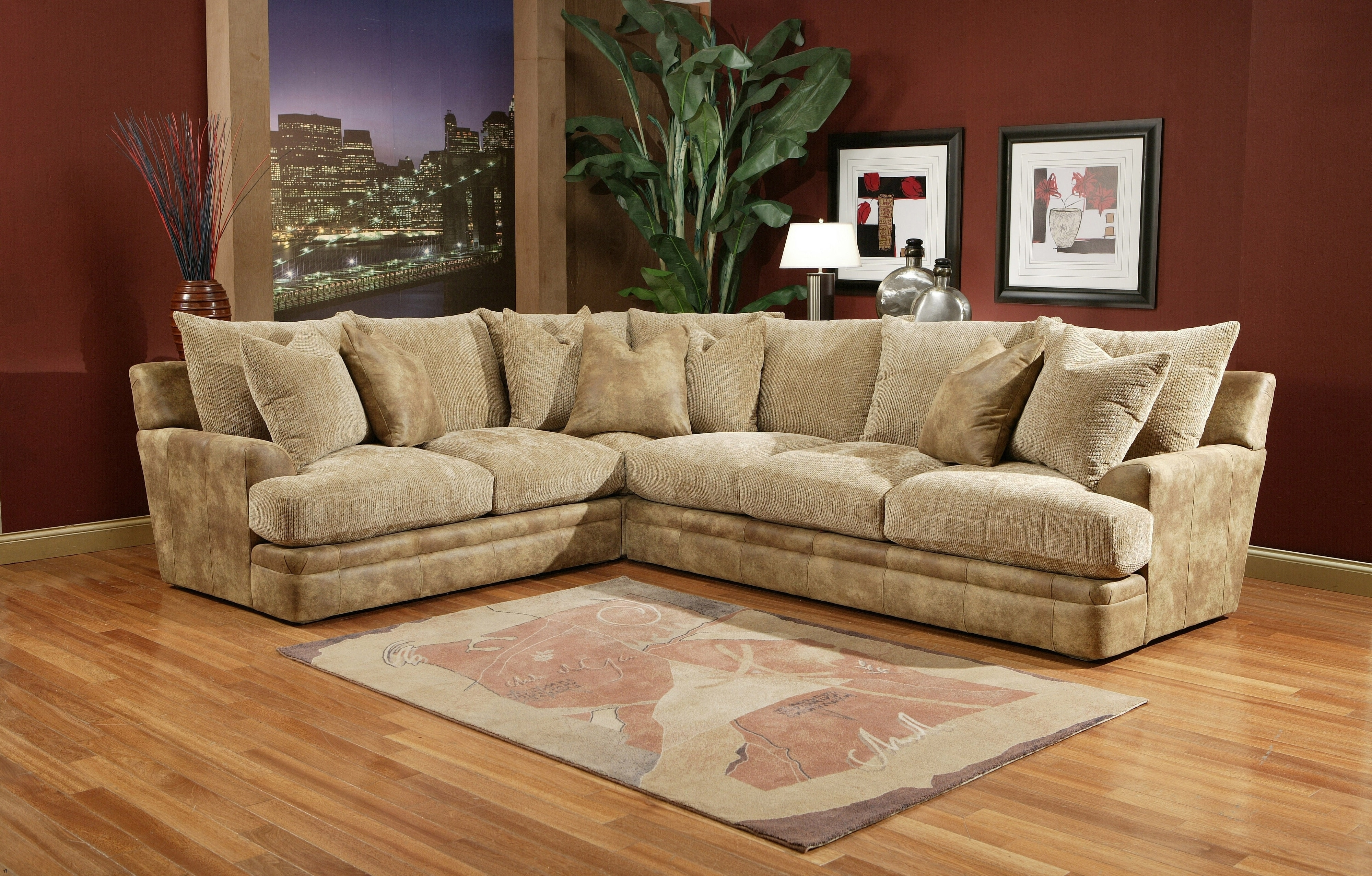 Down Filled Sectional Sofas Pertaining To Well Known Down Sectional Sofa Best Filled Sofas Wrapped (Gallery 19 of 20)