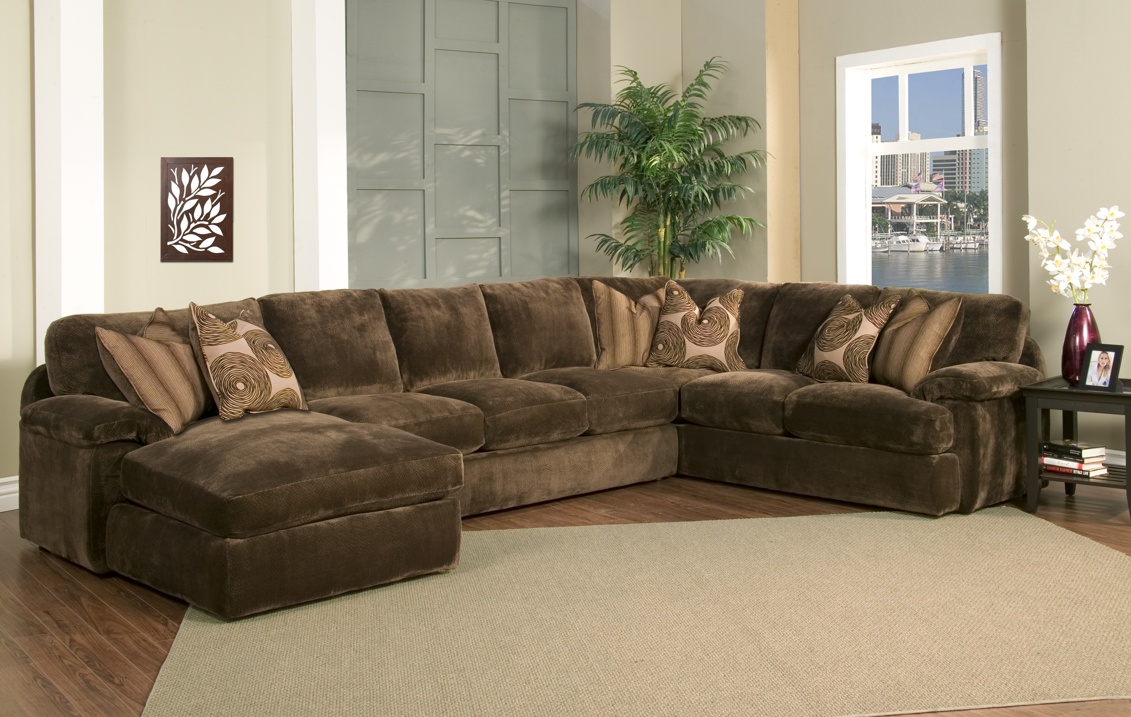 Down Sectional Sofas In Most Up To Date Robert Michaels Sofas And Sectionals (View 4 of 20)
