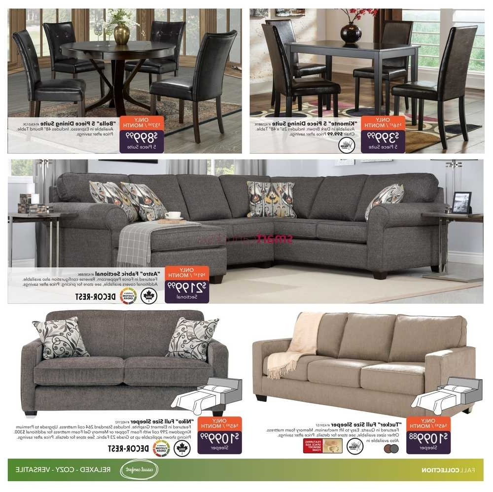 Dufresne Sectional Sofas Intended For Recent Dufresne Flyer September 8 To 21 (Gallery 13 of 20)