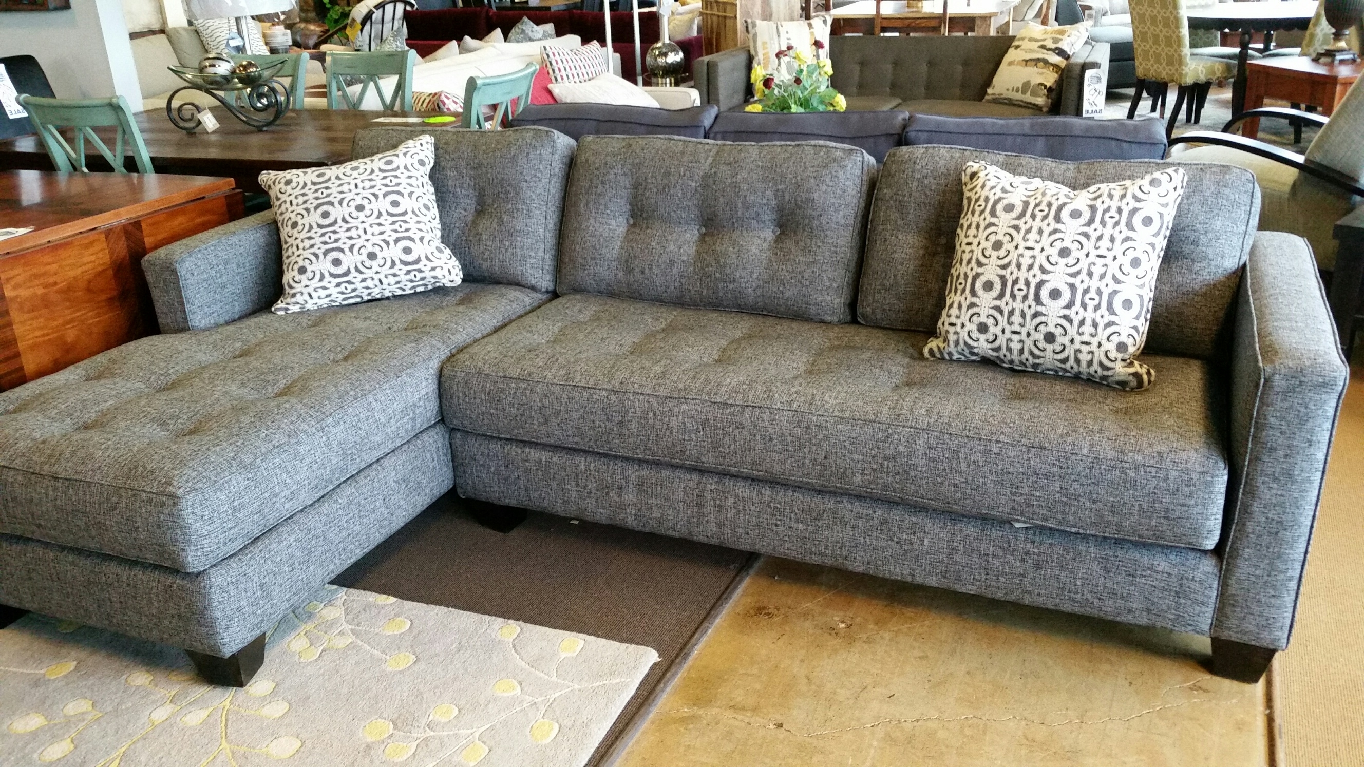 Dufresne Sectional Sofas Pertaining To Most Current Beautiful Aspen Sofa Chase For Only $ (View 7 of 20)