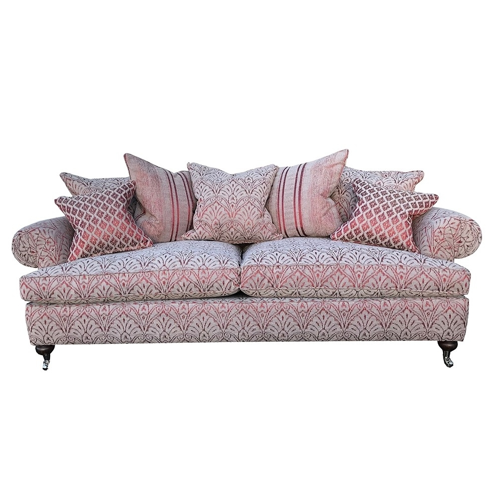 Duresta Sofa Burford Grand In Florence Damask Russet Pertaining To Newest Florence Grand Sofas (View 5 of 20)
