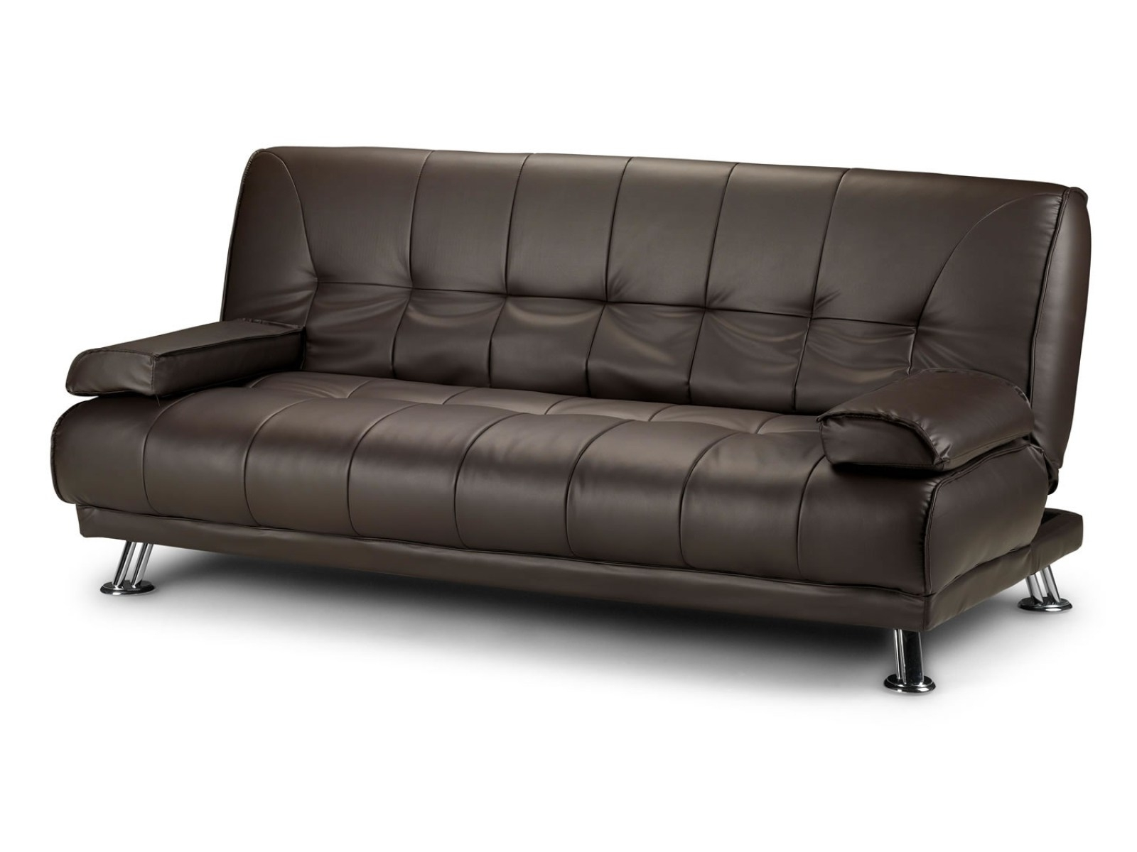 ☆▻ Sofa : 36 Elegant Leather Sofa Bed Fabric Sofas Sectionals With Best And Newest Leather Sofas With Storage (View 1 of 20)