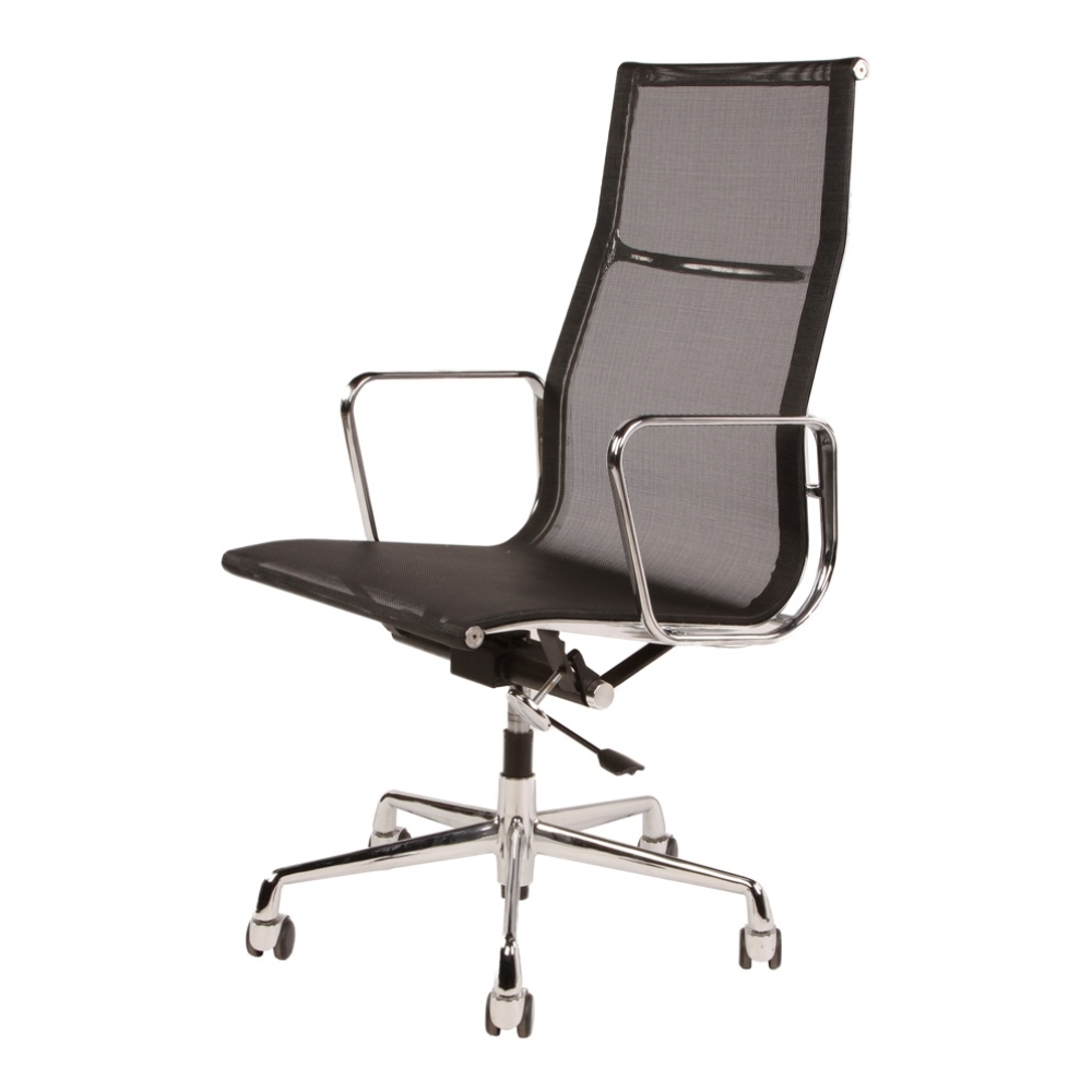 Eames Mesh Executive High Back Office Chair In Well Known Premium Executive Office Chairs (View 5 of 20)