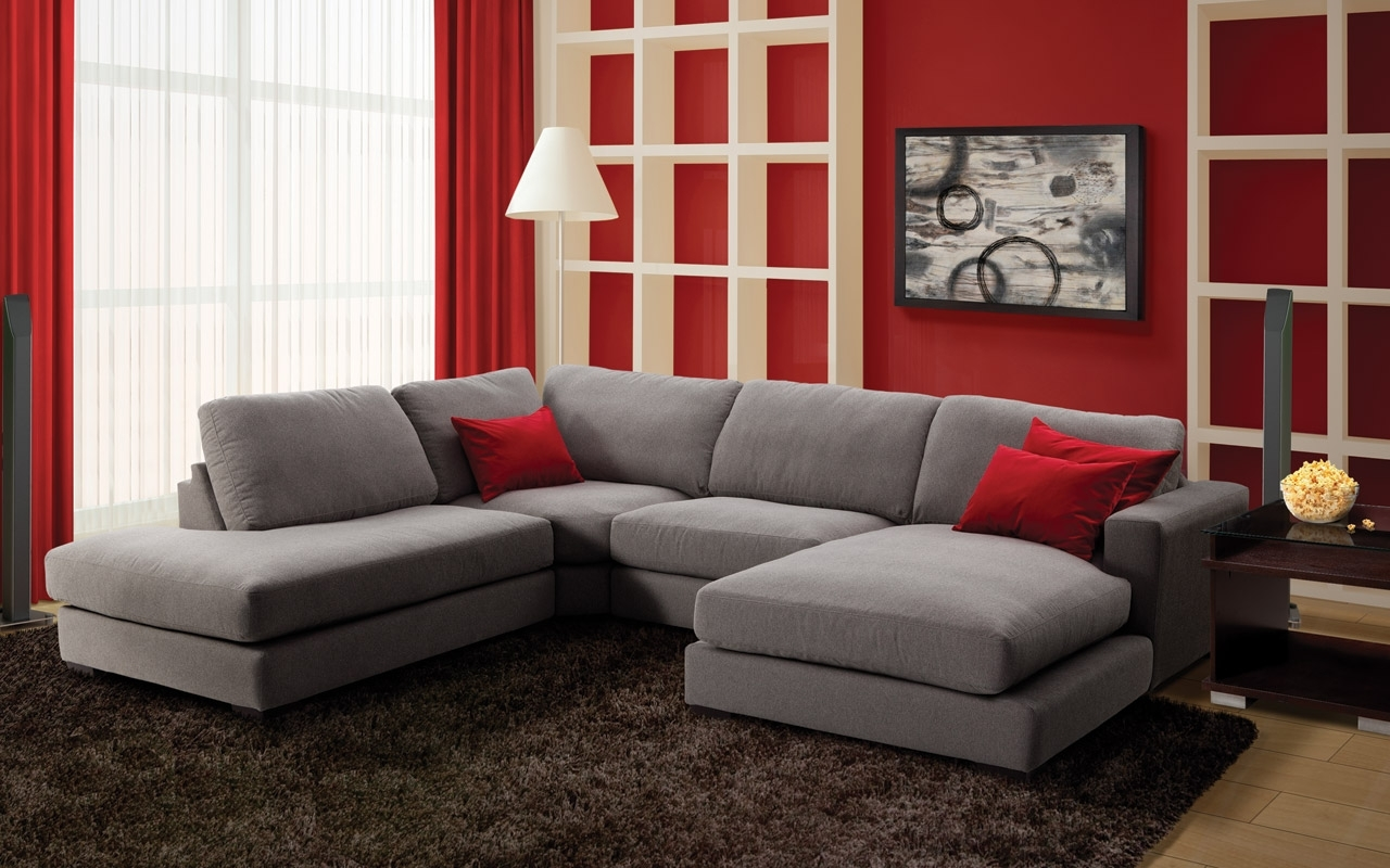 Economax Sectional Sofas In Most Current Danielle Upholstery 3 Pc. Sectional – Leon's (View 5 of 20)