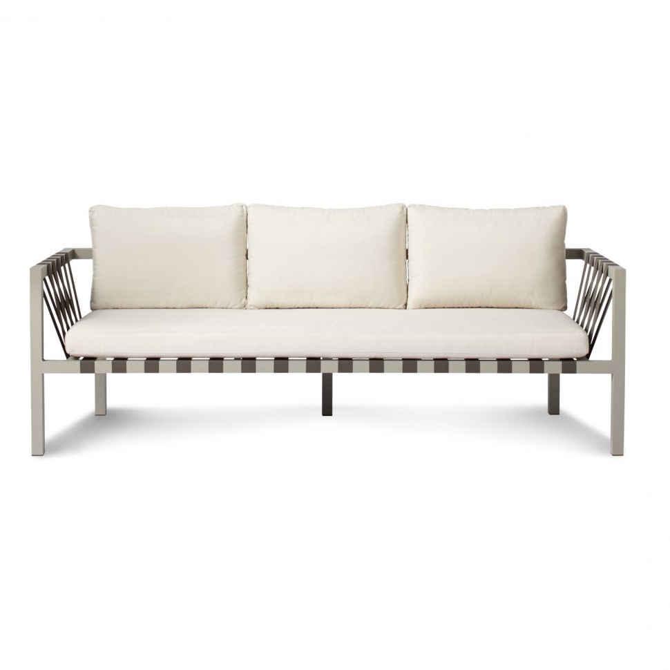 Economax Sectional Sofas With Most Current Loveseat : Comfortable Outdoor Loveseat Outdoor Sofa Seating (View 9 of 20)