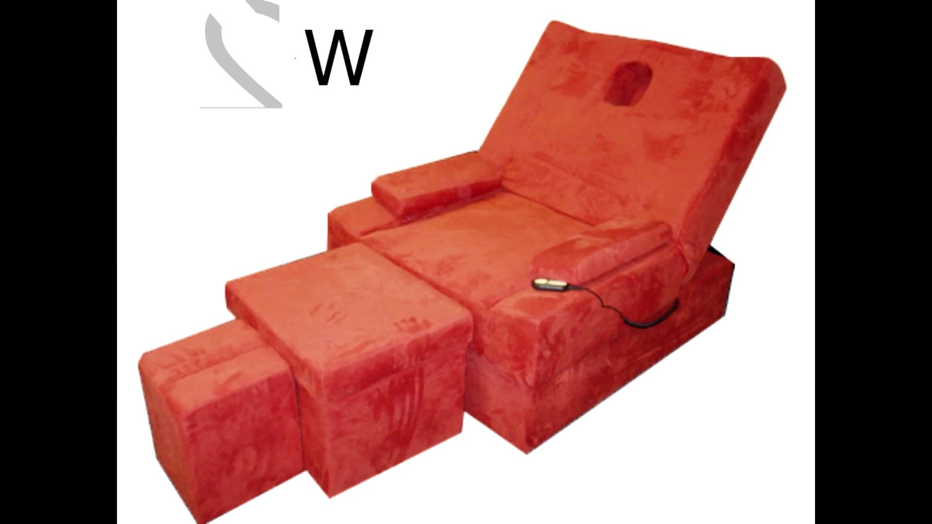 Electric Foot Massage Sofa Set 电动足浴沙发  Youtube Throughout Preferred Foot Massage Sofas (View 1 of 20)
