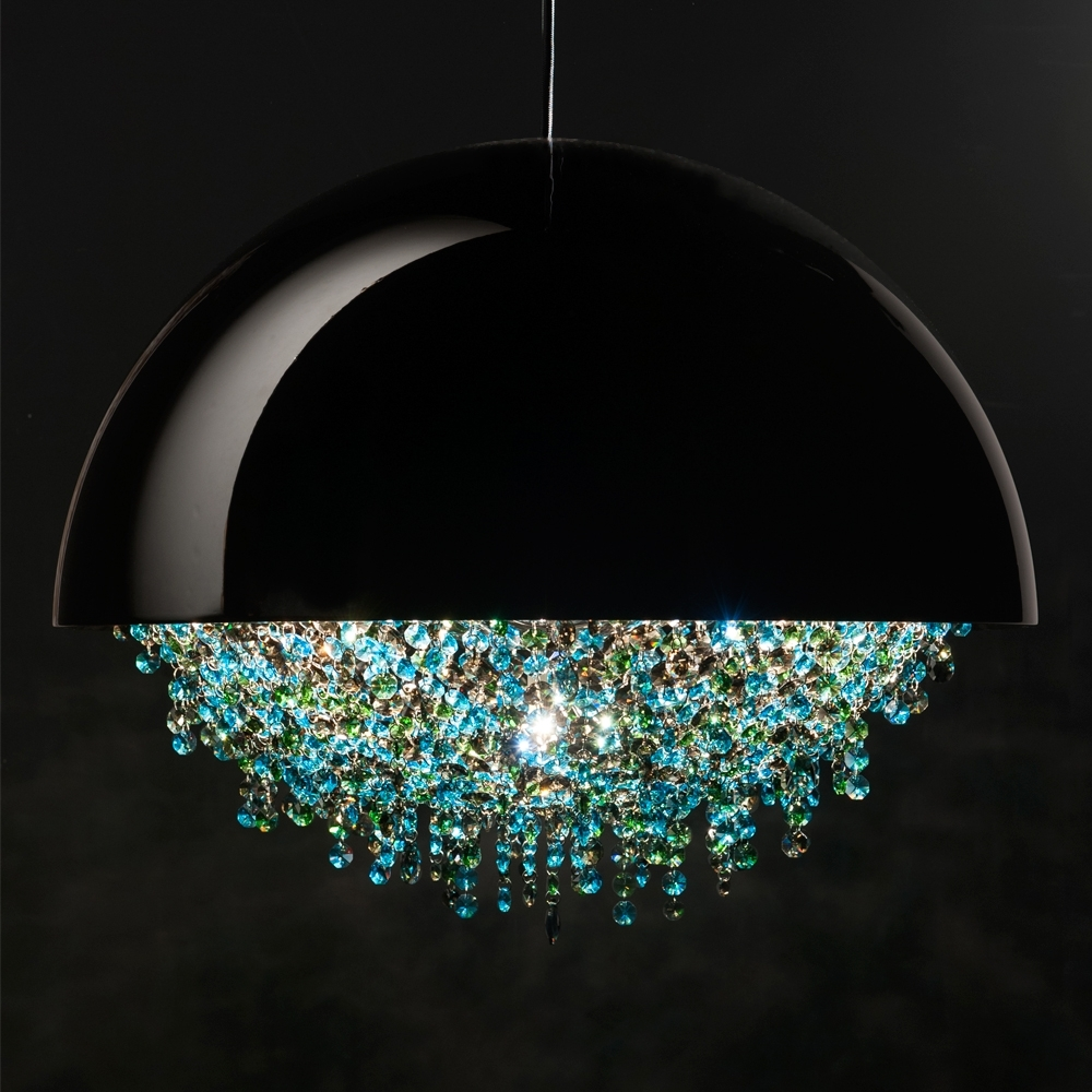 Elegant Decoration Contemporary Glass Chandeliers (Gallery 19 of 20)