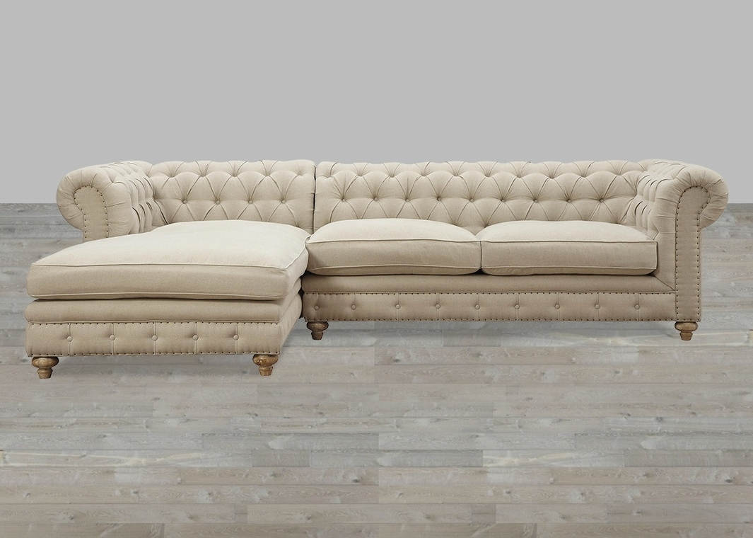 Elegant Sectional Sofa With Nailhead Trim 97 For Sofa Design Ideas With  Regard To Best And