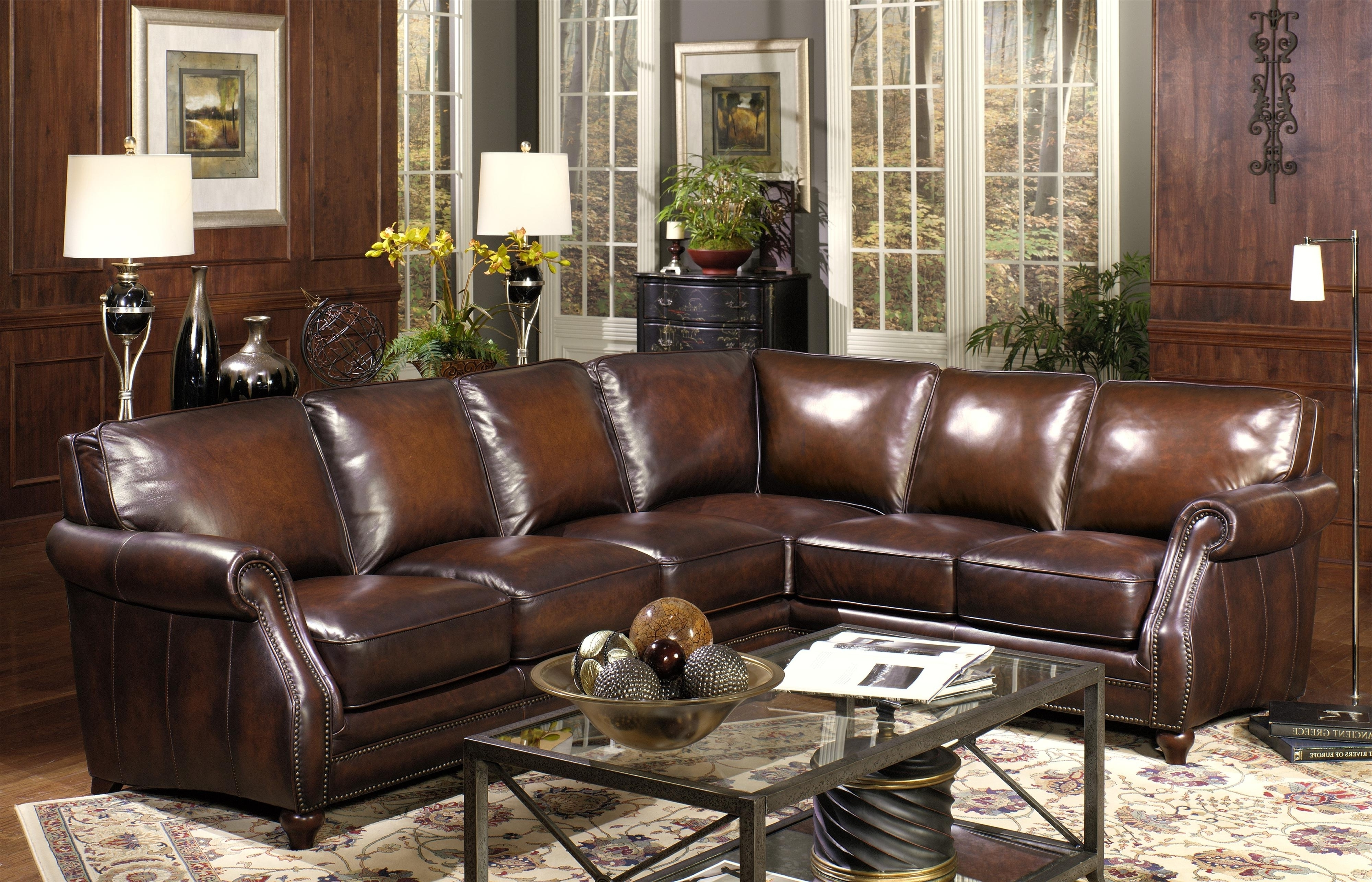 Elegant Sectional Sofas For Most Recent Elegant Leather Sectional Sofas San Diego 35 On Gray Modular In (View 7 of 20)