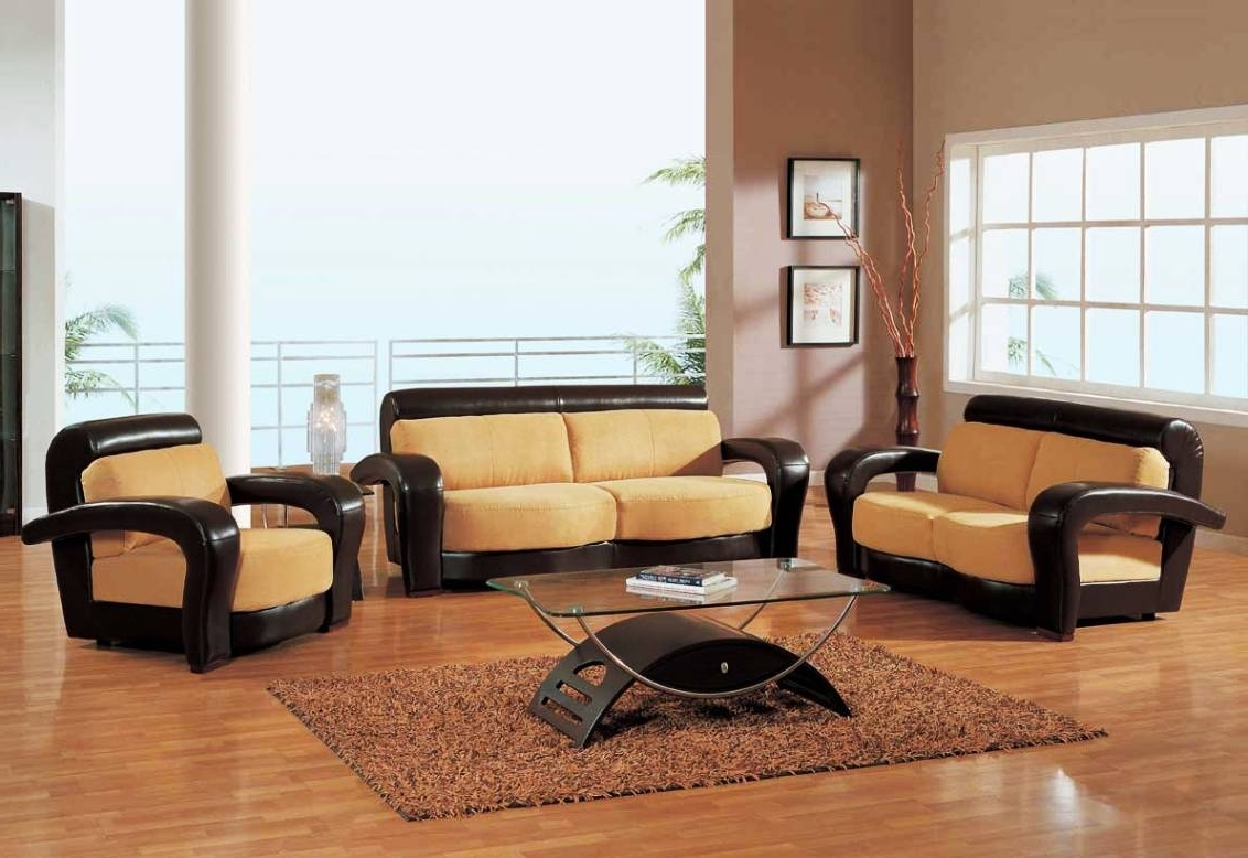 Elegant Sofas And Chairs Within Popular Sofa : Living Room Sofa Sets Clearance Leather Sofa Sets Living (View 20 of 20)