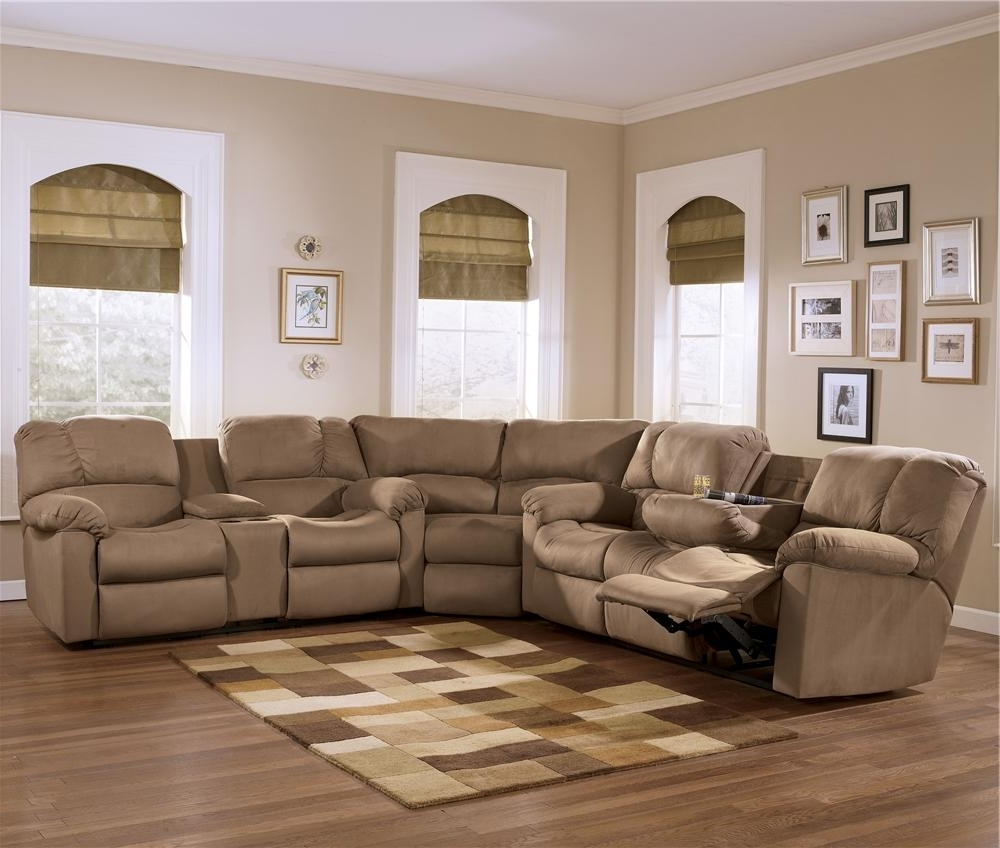 Eli – Cocoa Reclining Sectional Sofa Group With Pillow Arms And With Regard To Latest Home Furniture Sectional Sofas (Gallery 19 of 20)