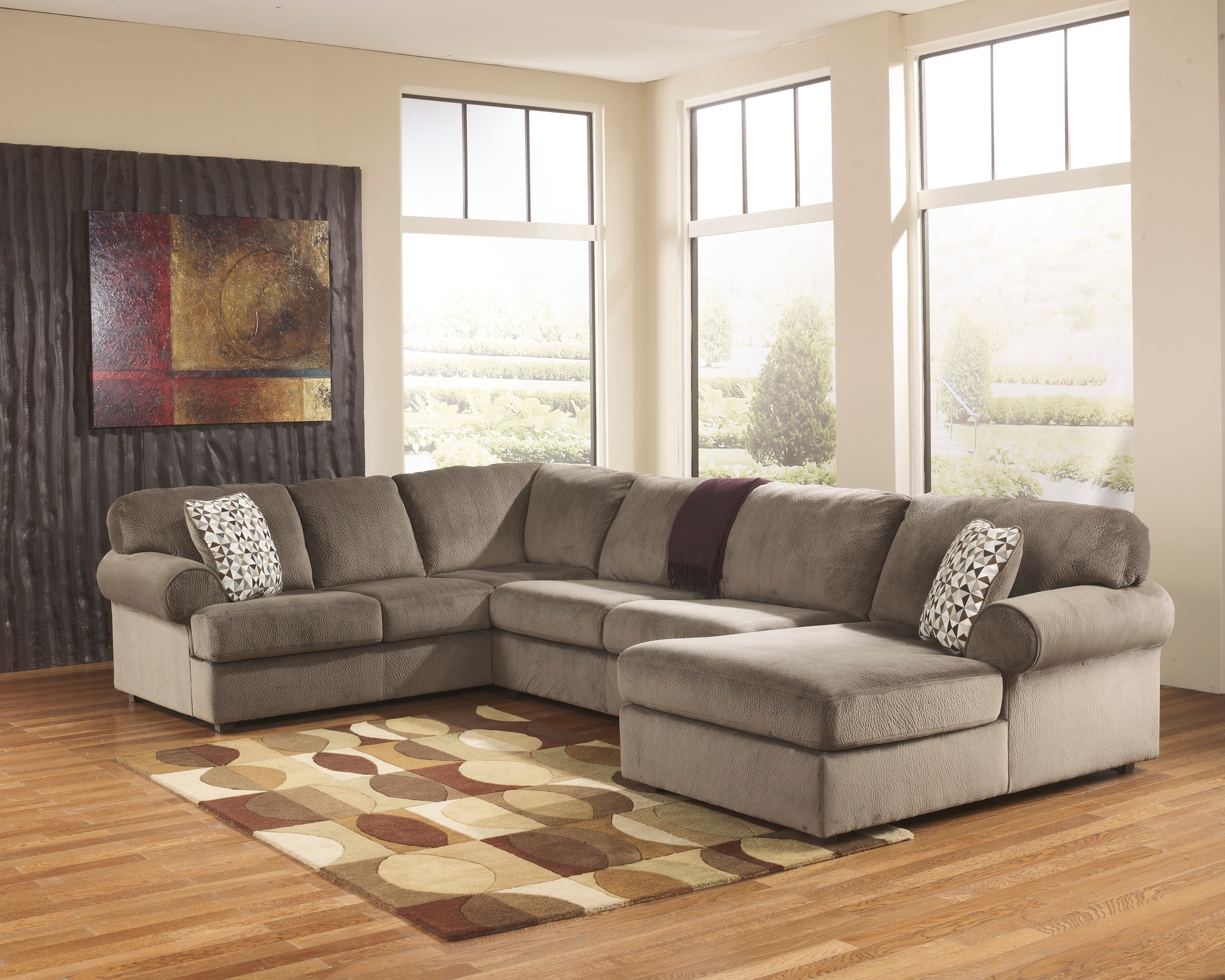 Elk Grove Ca Sectional Sofas For Well Known Jessa Place Dune 3 Piece Sectional Sofa For $ (View 4 of 20)