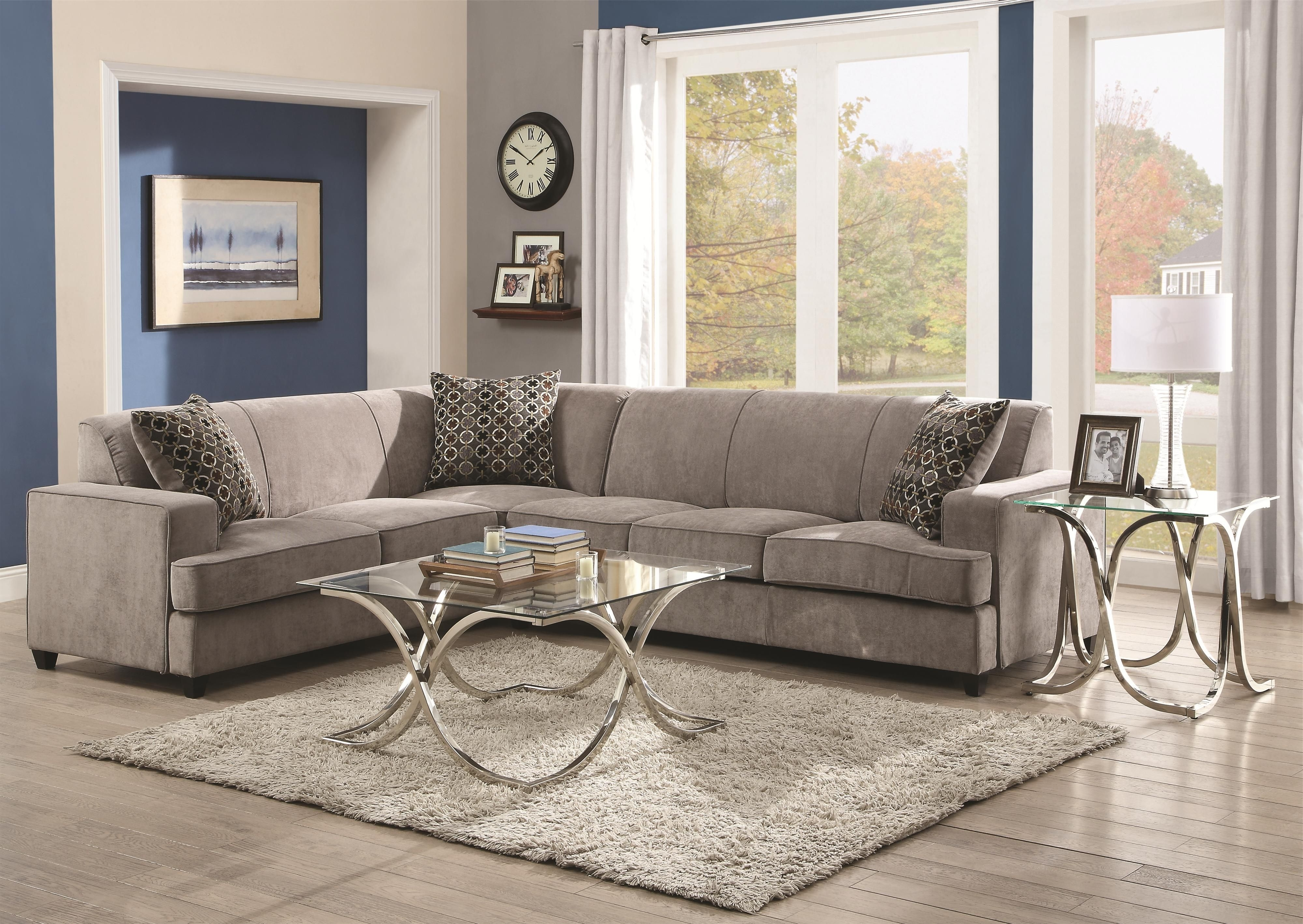 Elk Grove Ca Sectional Sofas Within Best And Newest Tess Sectional Sofa For Cornerscoaster (View 9 of 20)