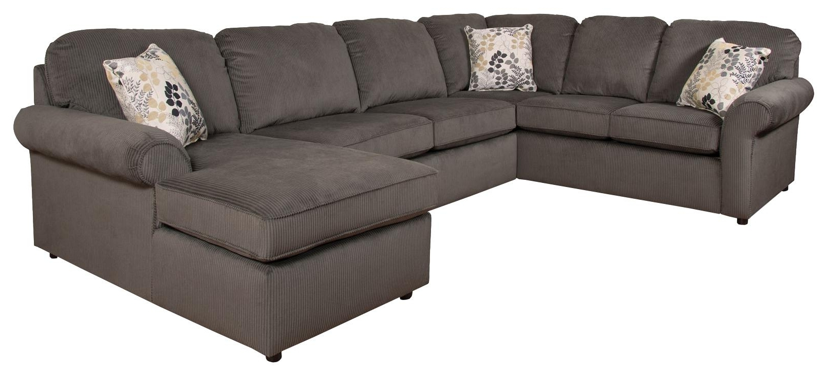 England Sectional Sofas With Regard To Latest England Malibu 5 6 Seat (right Side) Chaise Sectional Sofa (View 3 of 20)
