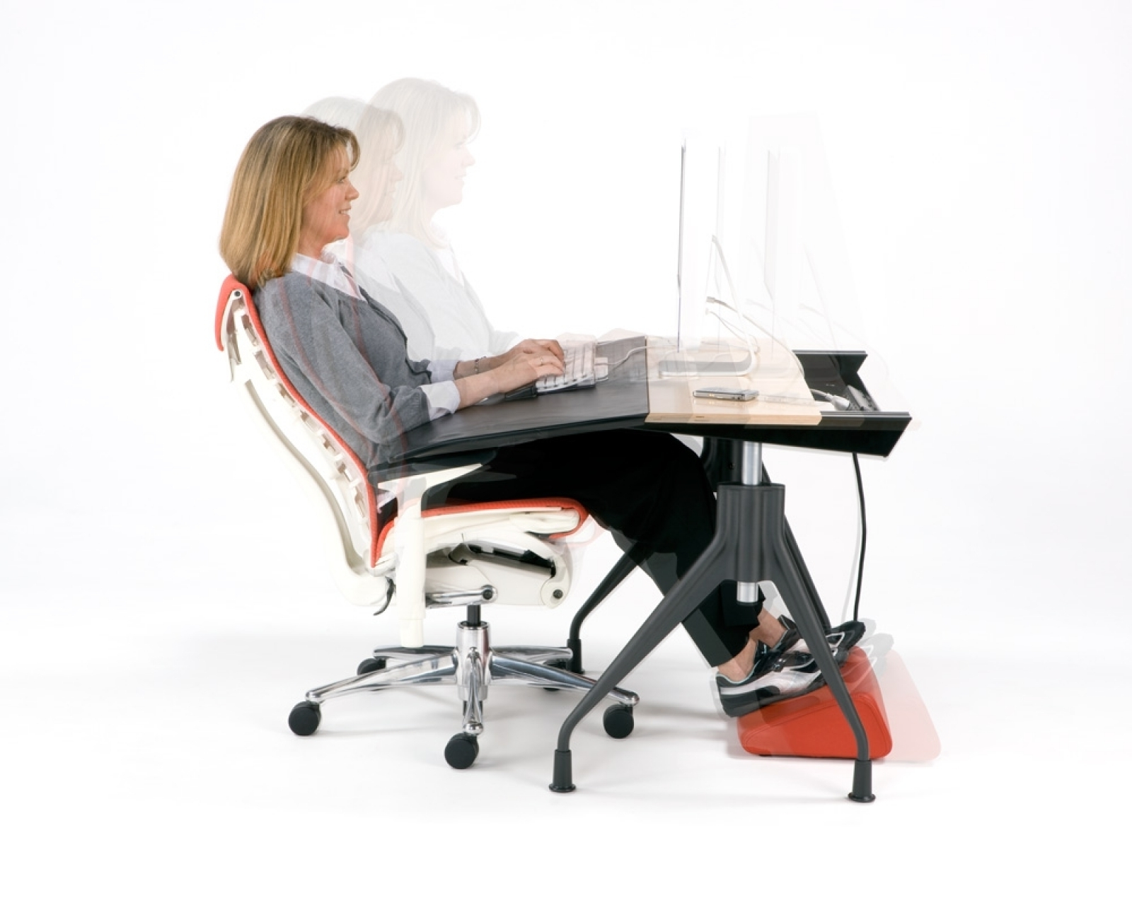 Ergonomic Computer Desks Throughout Most Current Why We Should Apply Chair And Ergonomic Computer Desk Today (View 9 of 20)