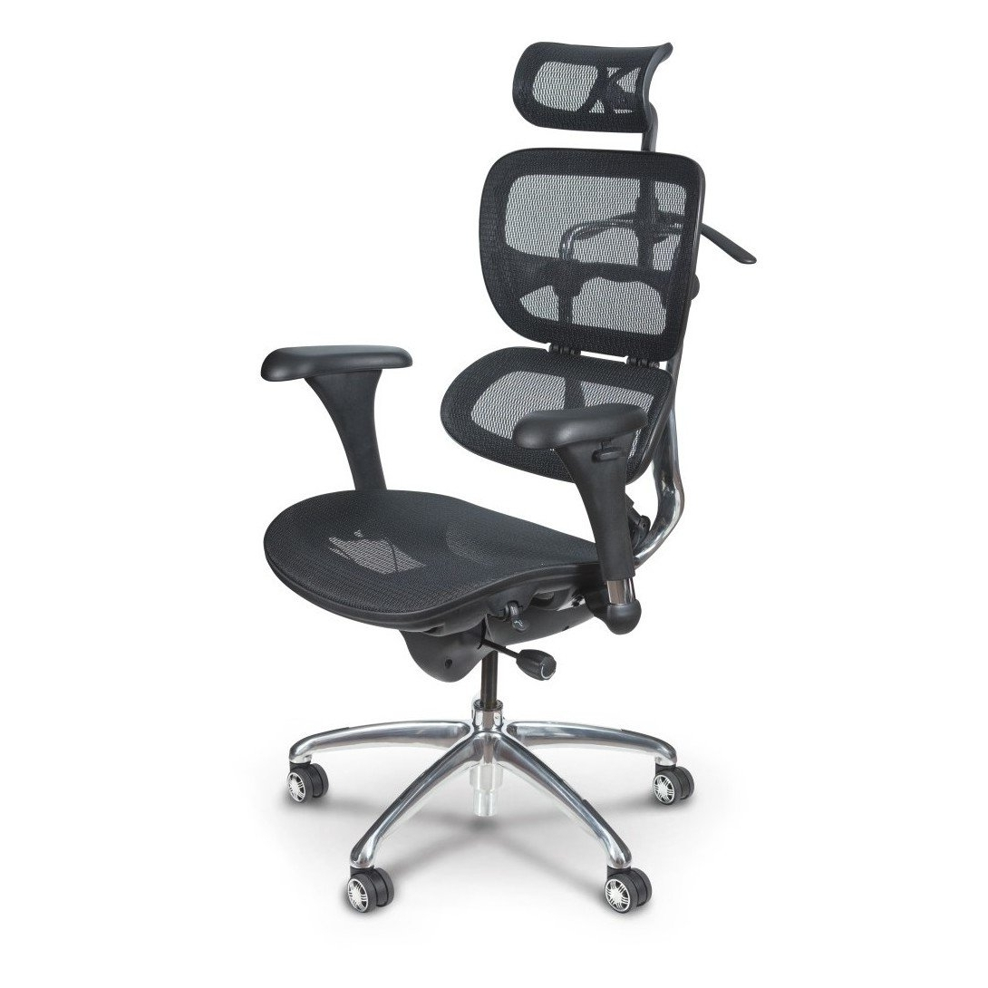Ergonomic Executive Office Chairs Within Fashionable Butterfly Ergonomic Executive Office Chair – Mooreco Inc (Gallery 9 of 20)