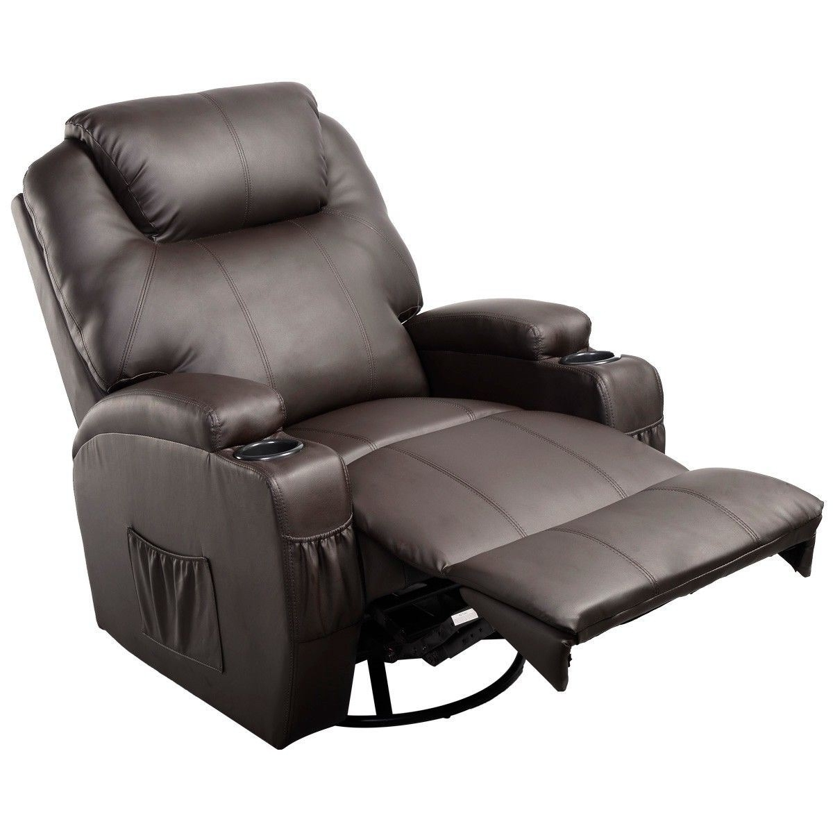 Ergonomic Heated Massage Recliner Sofa Chair (Gallery 4 of 20)