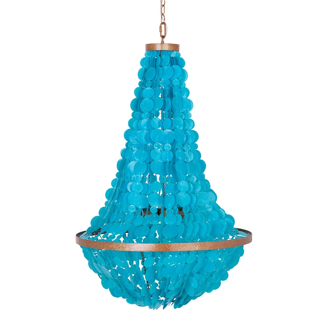 Everything Turquoise Inside Turquoise Mini Chandeliers (View 5 of 20)