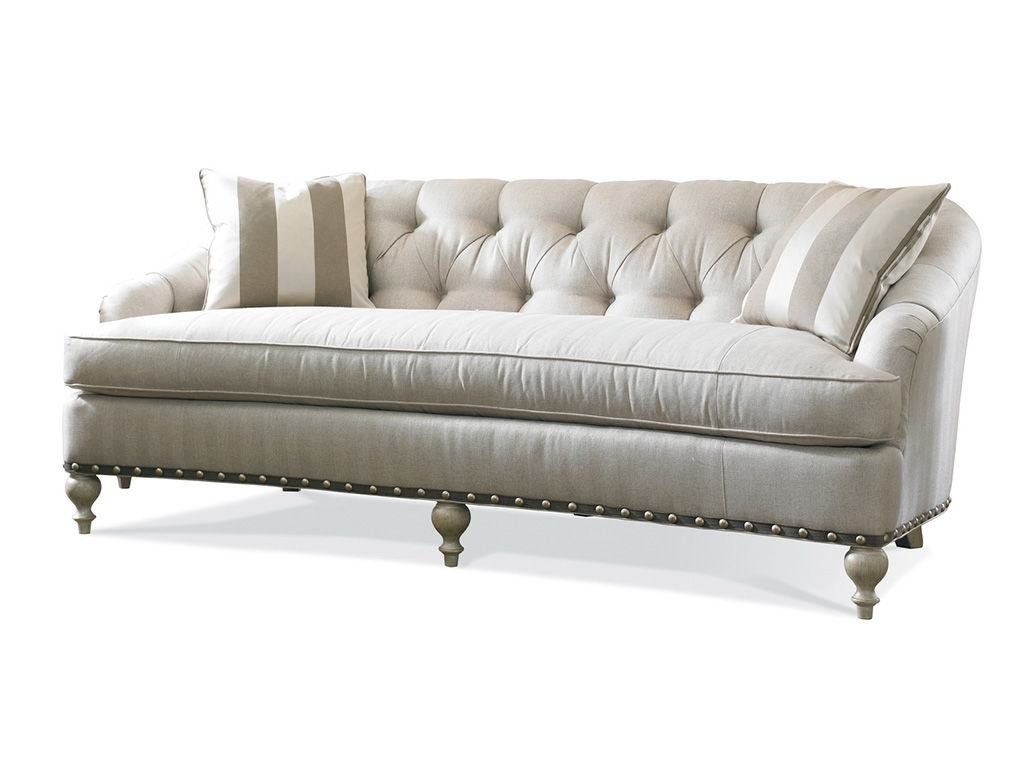 Exceptional Single Cushion Sofa #2 One Cushion Sherrill Furniture Pertaining To Newest One Cushion Sofas (View 7 of 20)