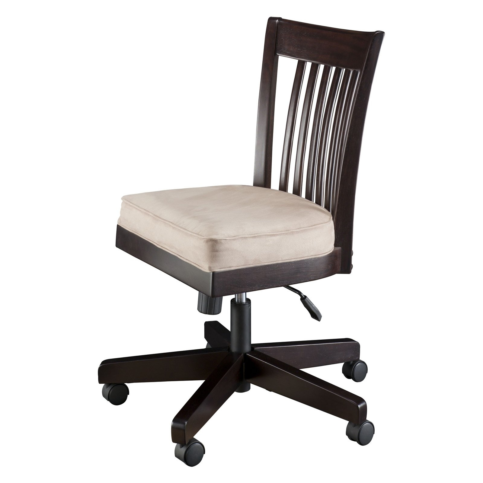 Executive Desk Chair Without Arms With Best And Newest Furniture. White Adjustabale Desk Chair Without Arms As Well As (Gallery 5 of 20)