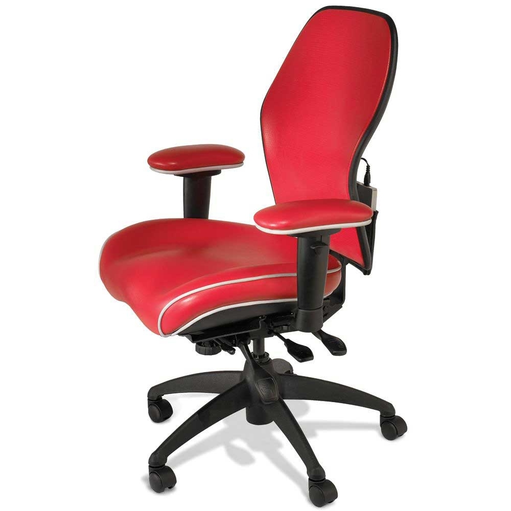 Executive Office Chair Red Leather Regarding Most Current Unique Executive Office Chairs (View 6 of 20)
