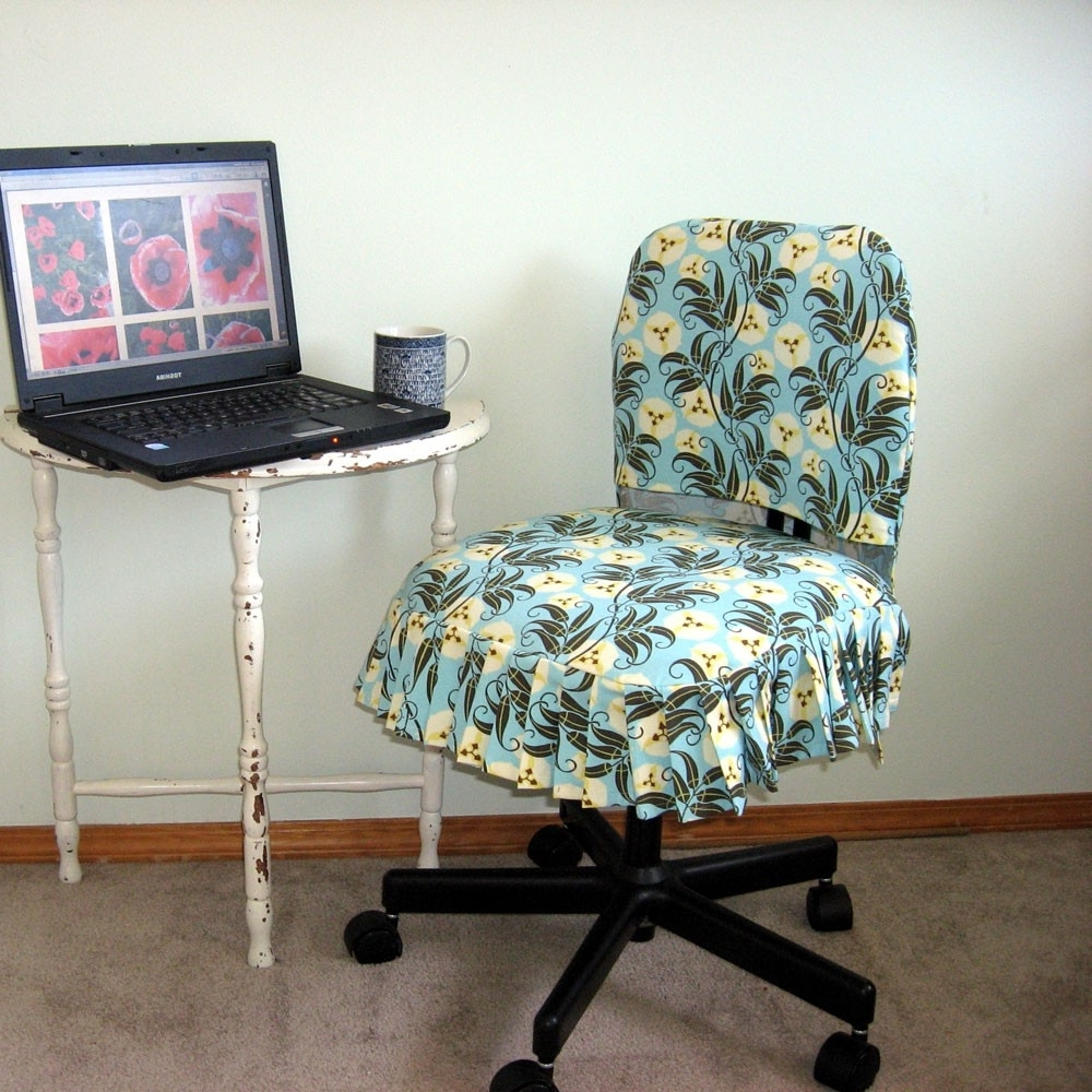Executive Office Chair Slipcovers Regarding Most Up To Date Leather Office Chair Slipcover • Office Chairs (View 7 of 20)