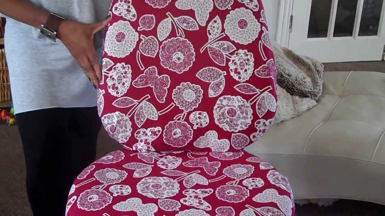 Executive Office Chair Slipcovers With Regard To 2018 How To Revamp An Office Chair – Youtube (View 11 of 20)