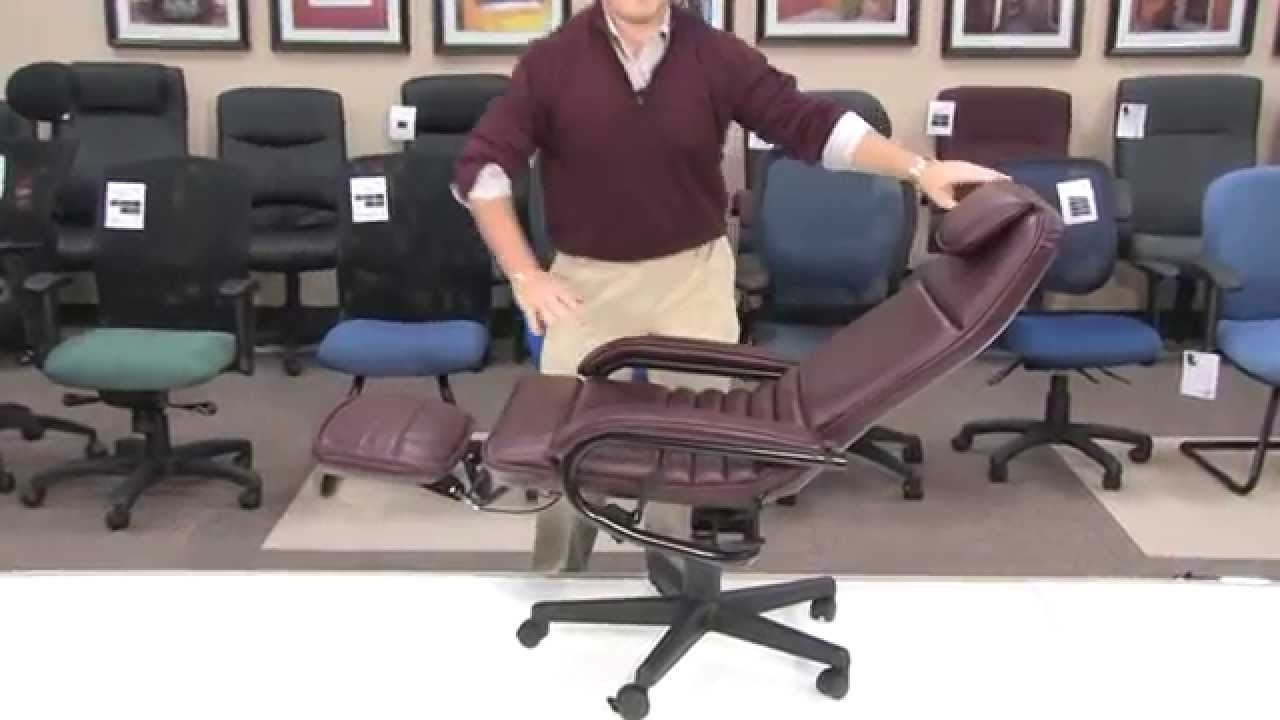 Executive Office Chairs Reclining For Well Known Ofm Inc – Office Chair – Model 680 Barrister Executive Recliner (Gallery 1 of 20)