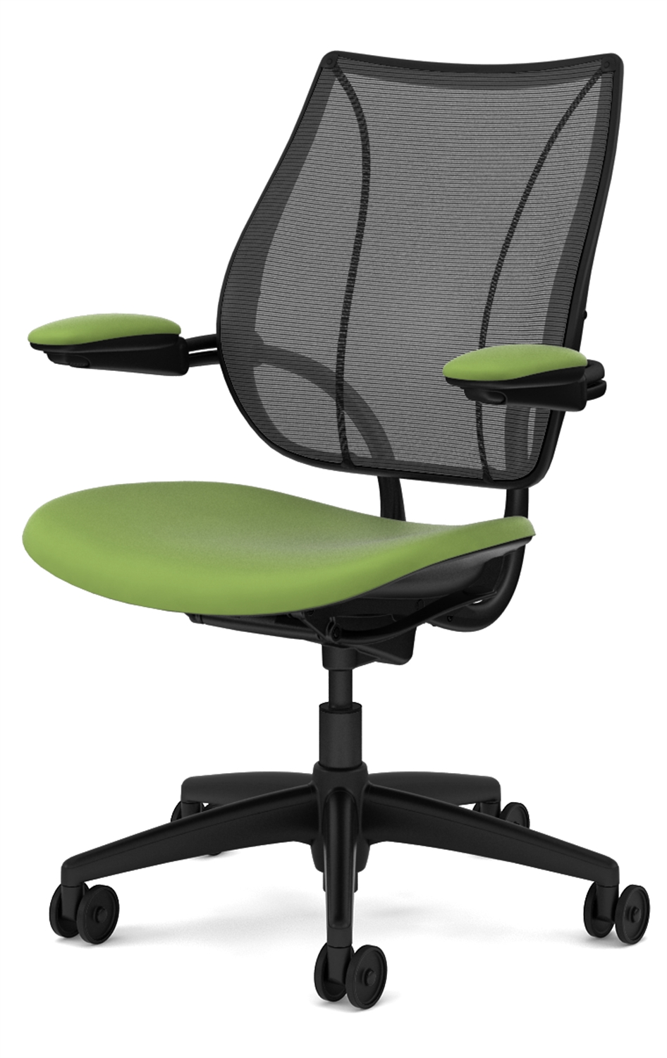 Executive Office Chairs With Adjustable Arms For Widely Used Humanscale Liberty Chair With Adjustable Gel Arms (View 7 of 20)