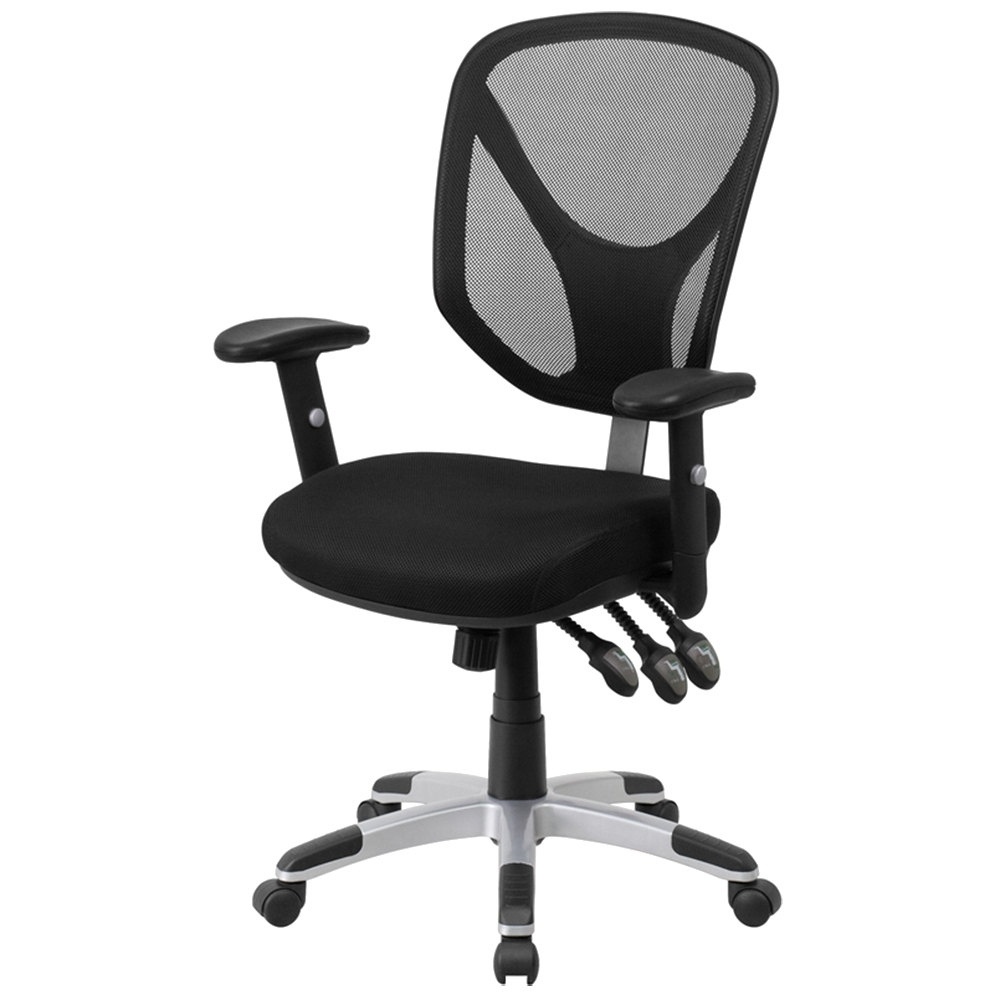 Executive Office Chairs With Adjustable Arms Within Well Known Bellezza© Executive Office Chair Adjustable Arm Modern Computer Pu (View 9 of 20)