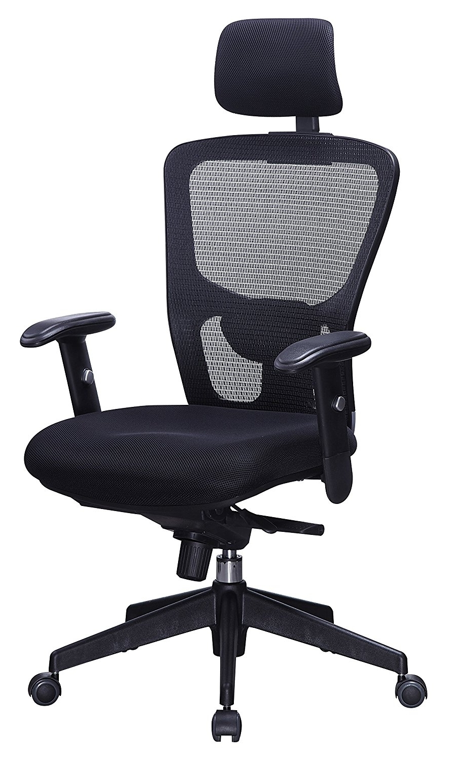 Executive Office Chairs With Adjustable Lumbar Support Intended For Most Popular 10 Best Ergonomic Chairs For Neck Pain – Think Home Office (View 7 of 20)