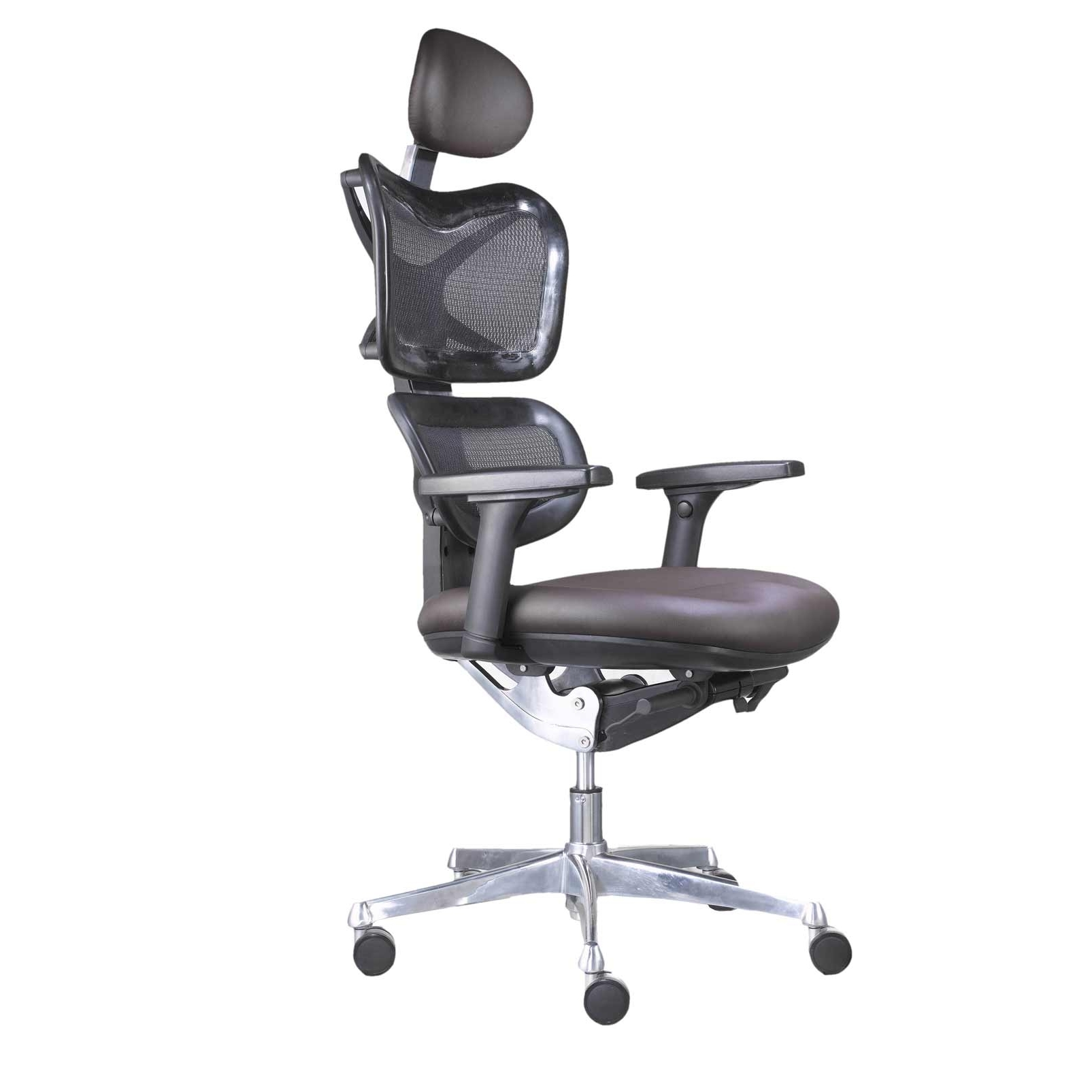 Executive Office Chairs With Headrest In Well Known High Back Mesh Office Chair With Headrest • Office Chairs (View 12 of 20)