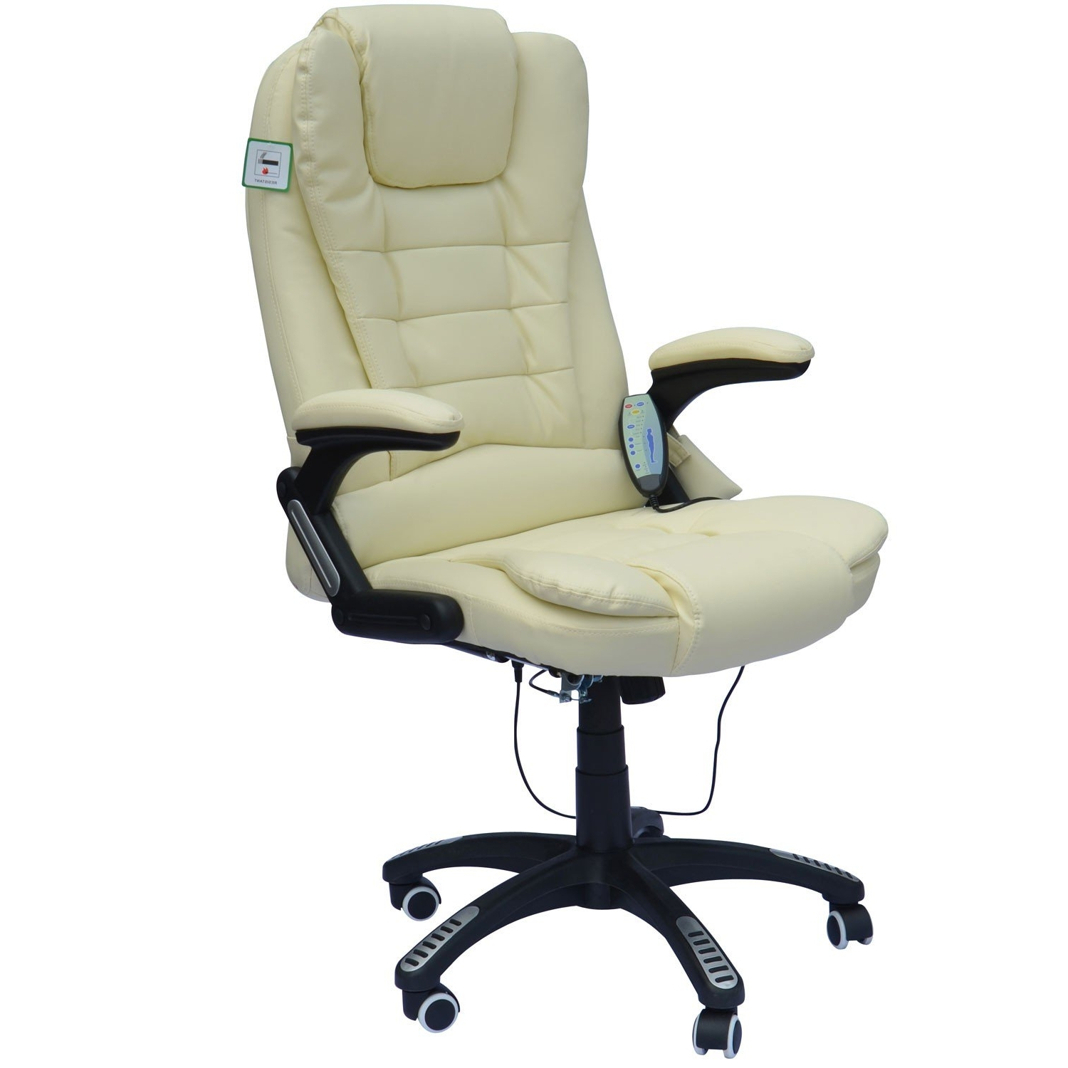 Executive Office Chairs With Massage/heat Pertaining To Most Up To Date Homcom Massage Chair Office Computer Executive Ergonomic Heated (View 5 of 20)