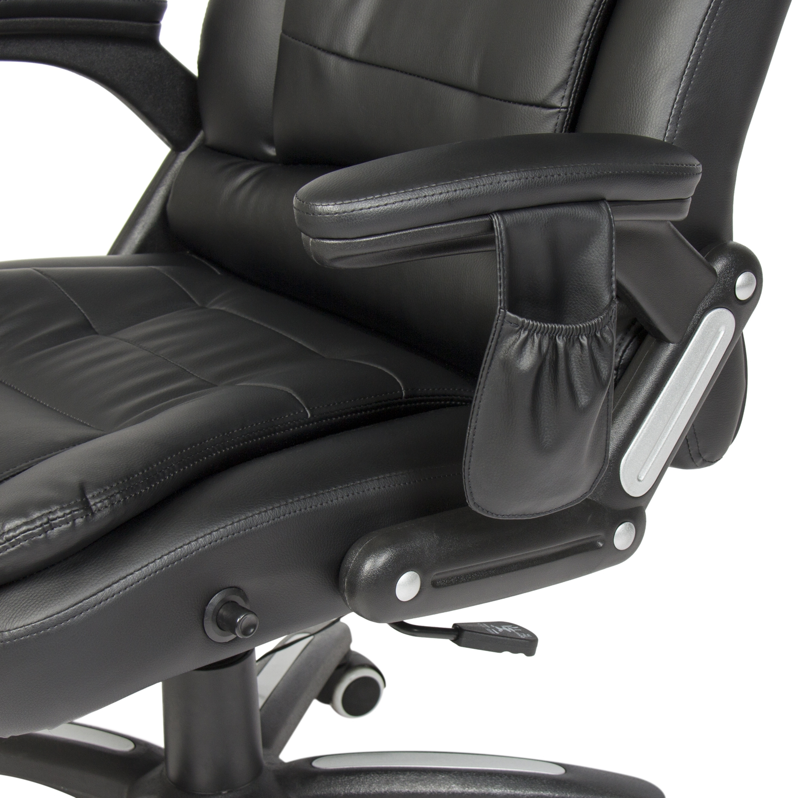 Executive Office Chairs With Massage/heat Within Most Popular Best Choice Products Executive Ergonomic Heated Vibrating Computer (View 9 of 20)