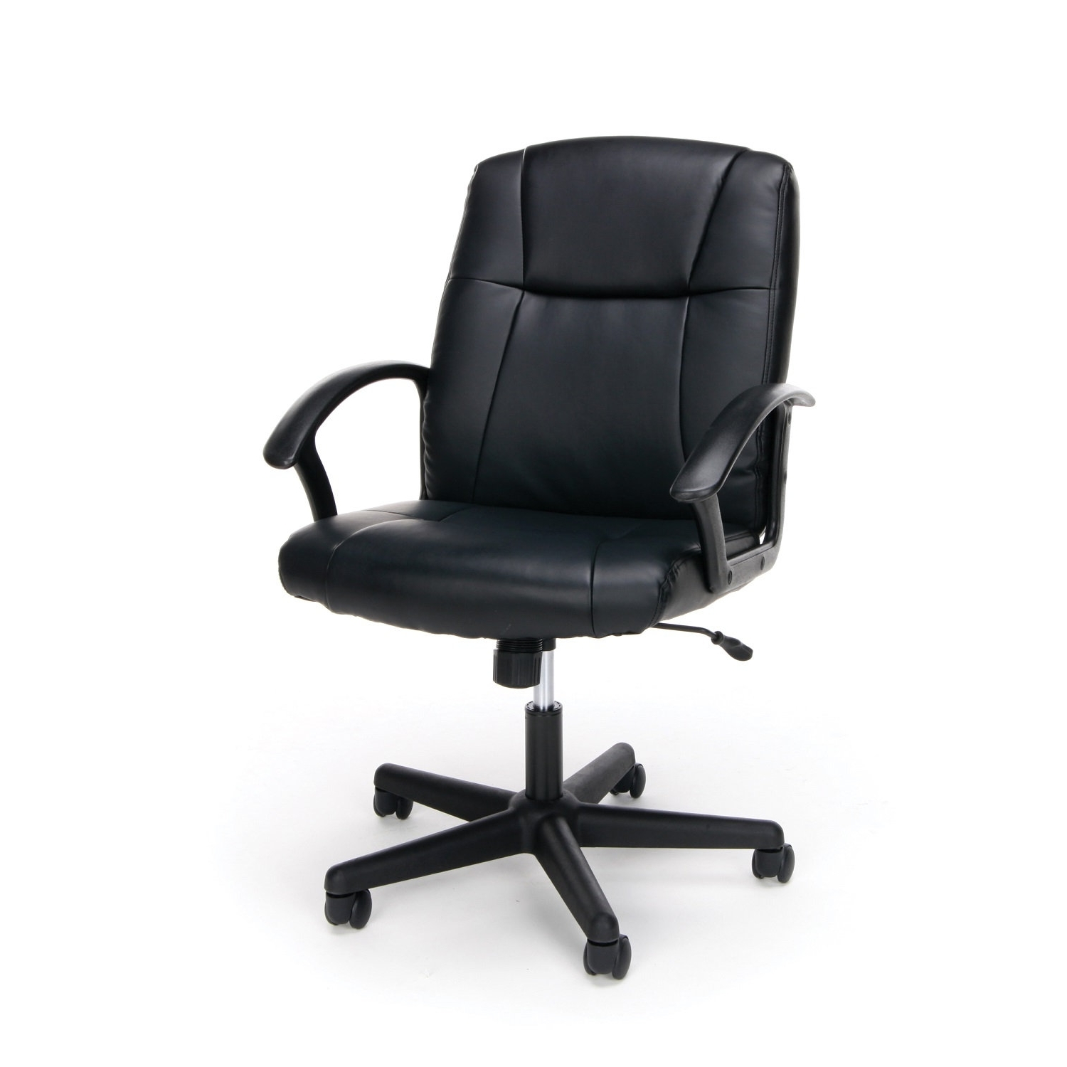 Executive Office Chairs Without Arms Pertaining To Most Up To Date Office Essentials (View 4 of 20)