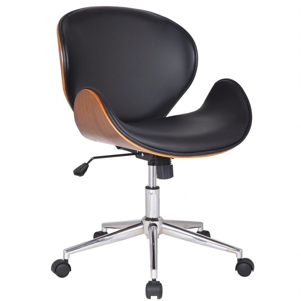 Executive Office Chairs Without Wheels For Well Liked Chair : White Desk Chair Without Wheels Ergonomic Executive Chair (View 3 of 20)