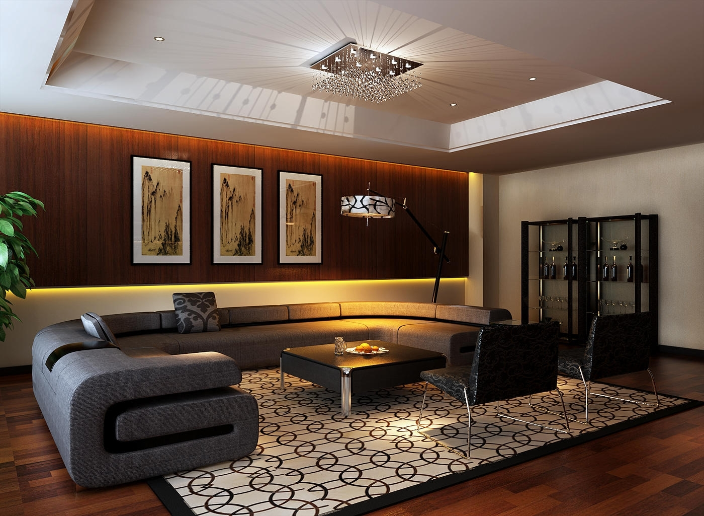 Executive Office Design Great With Image Of Beautiful Interior New Within Current Executive Office Lounge Chairs (View 5 of 20)
