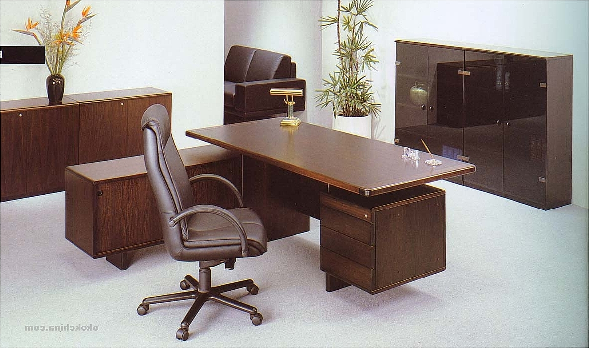 Executive Office Table And Chairs Regarding Most Recent Tables Adorn Furniture View 6