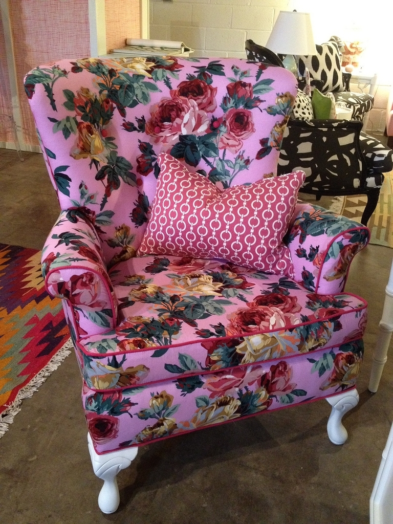 Exotic Sofas And Chairs To Create A Fresh Look Intended For Widely Used Floral Sofas And Chairs (Gallery 11 of 20)