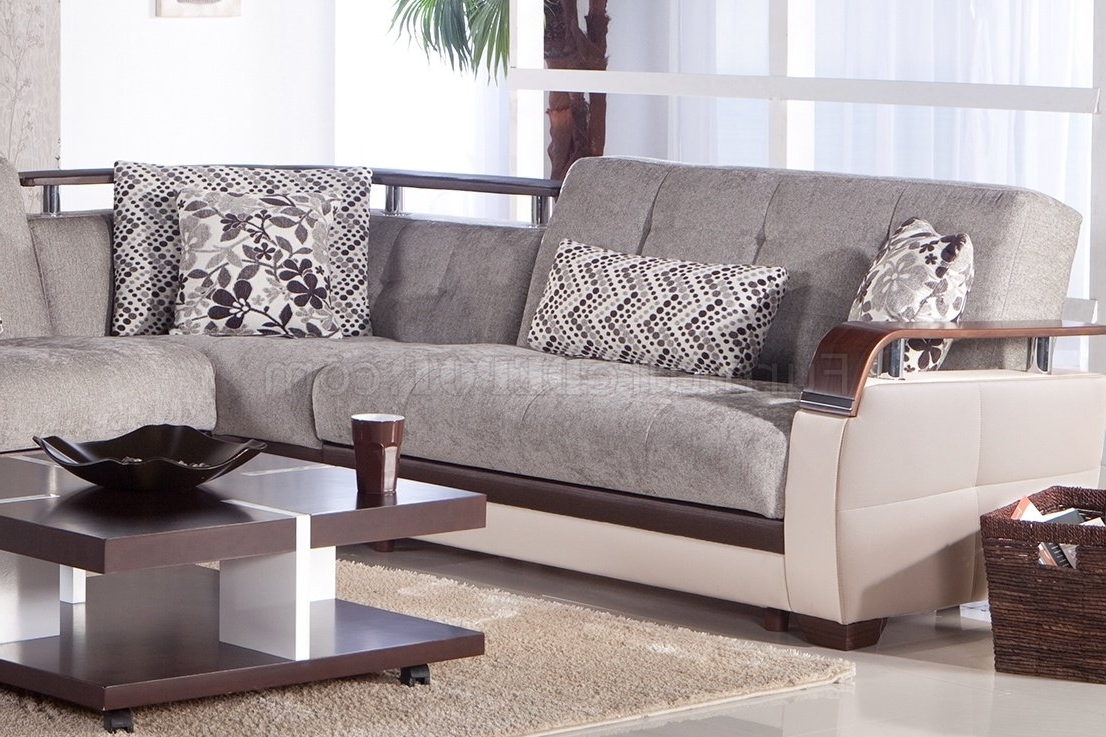 Fabric Sectionals – Microfiber Sectional Sofas, Microsuede In 2018 Microfiber Sectional Sofas (View 6 of 20)