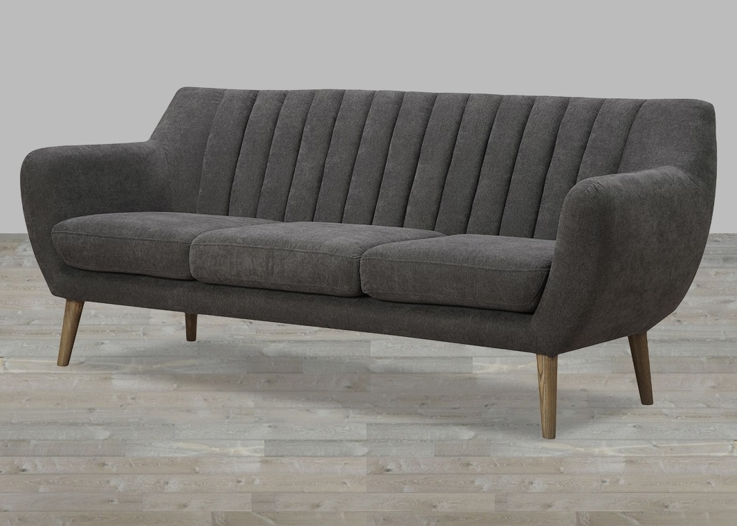 Fabric Sofa With Quilted Back Regarding Popular Fabric Sofas (View 5 of 20)