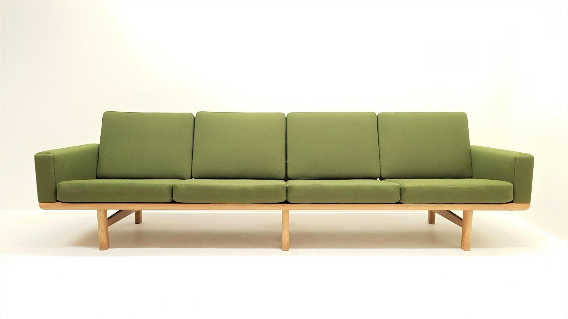Famous 4 Seater Sofas In Mid Century Ge 236/4 4 Seater Sofahans J (