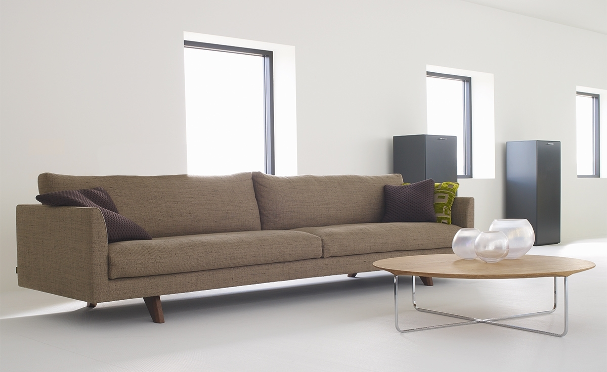 Famous 4 Seater Sofas Inside Axel 4 Seat Sofa – Hivemodern (View 11 of 20)