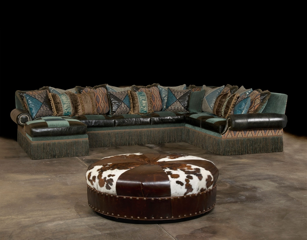 Famous Amazing Western Style Sectional Sofas 12 On Sleeper Sofa With Inside Western Style Sectional Sofas (View 2 of 20)