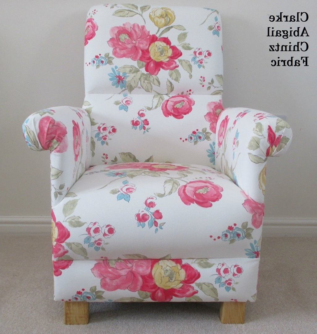 Famous Armchair : Chintz Fabric Sofas Calico Meaning In Hindi What Is With Regard To Chintz Fabric Sofas (View 8 of 20)