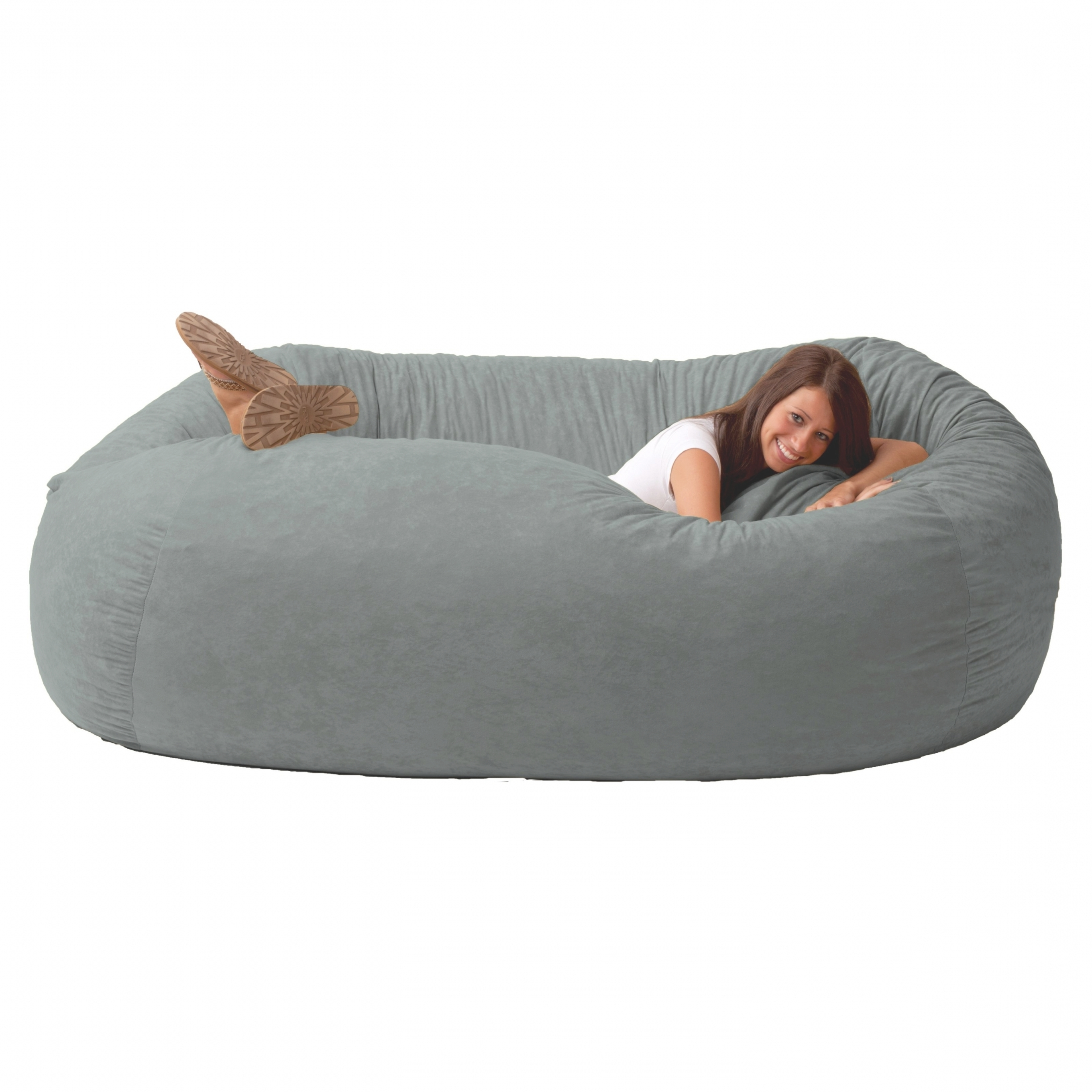 Famous Bean Bag Sofas And Chairs Regarding Interior: Bean Bags That Turn Into Beds And Corduroy Bean Bag Bed (View 2 of 20)