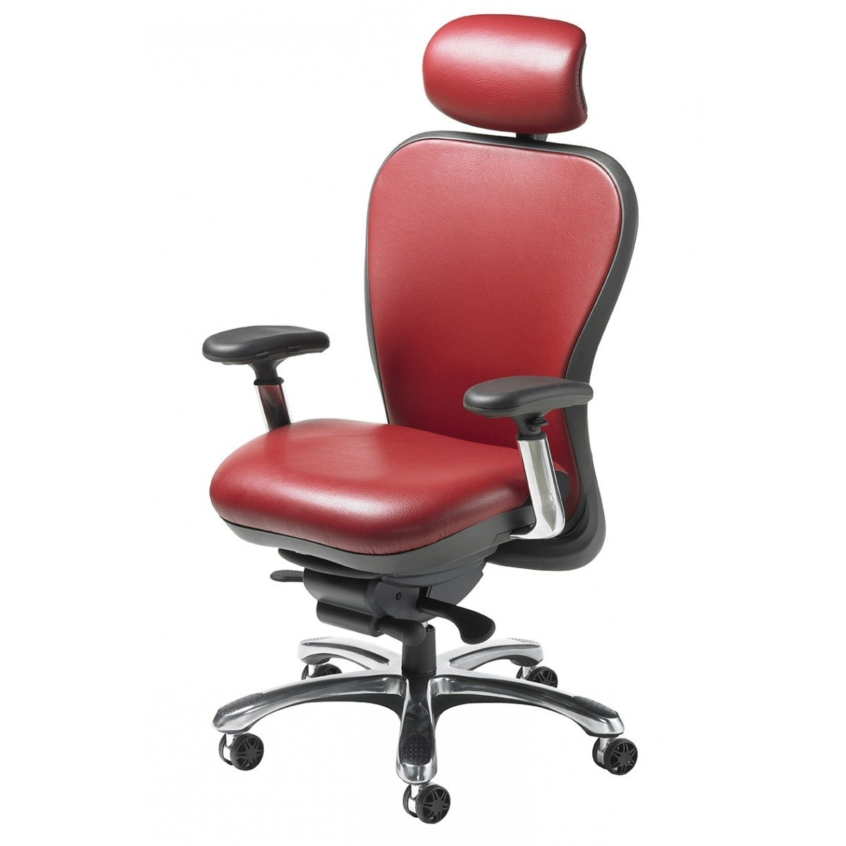 Famous Chair : Leather And Wood Executive Office Chair Executive Leather In Black Leather Faced Executive Office Chairs (View 11 of 20)