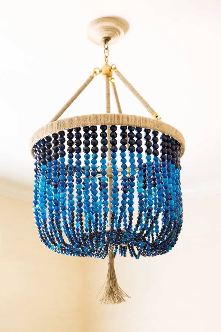 Famous Chandelier : Inexpensive Chandeliers Blue Chandelier Turquoise Blue Pertaining To Turquoise Blue Beaded Chandeliers (View 4 of 20)